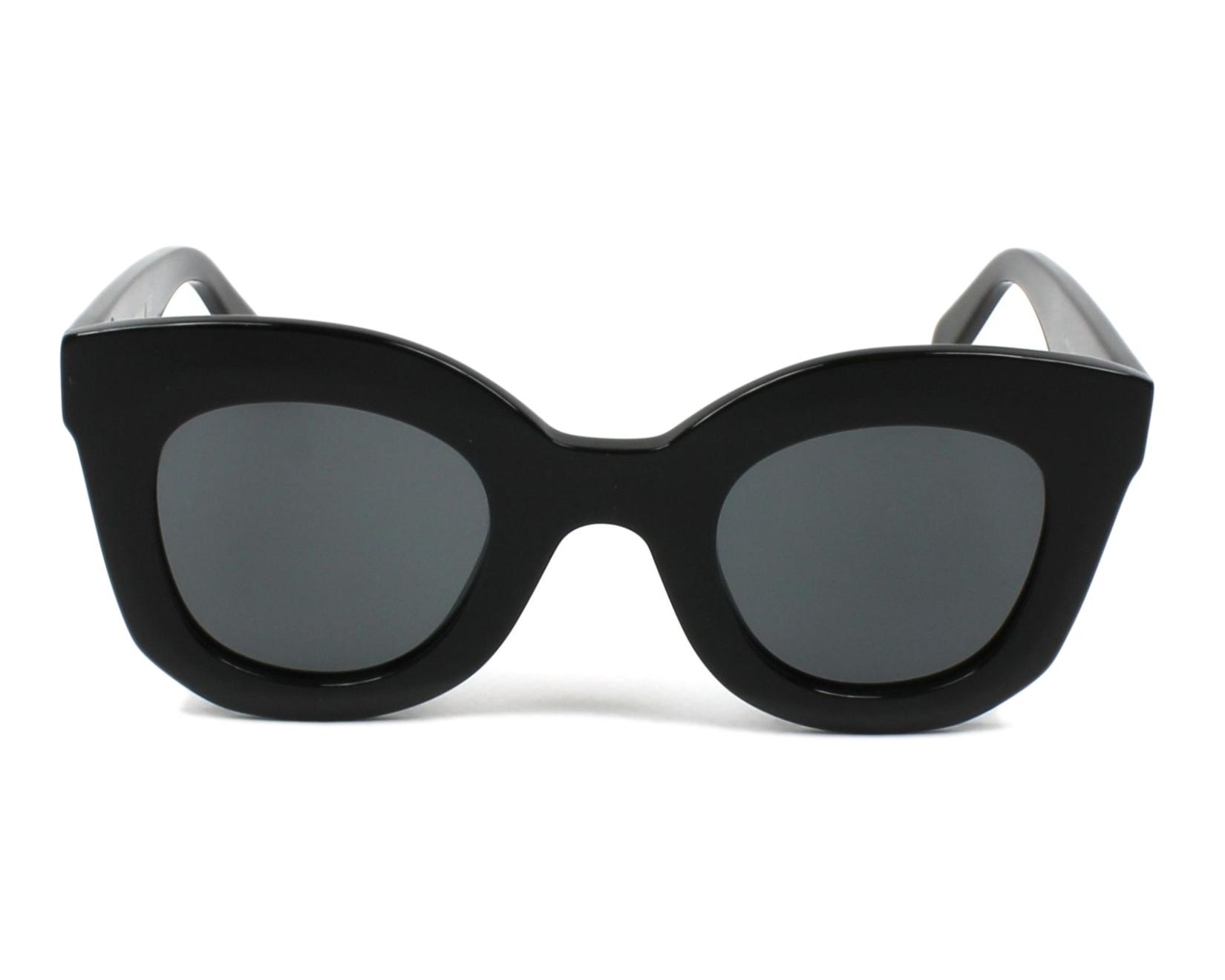 b2537dc96434 thumbnail Sunglasses Céline CL-41393-S 807 BN - Black front view