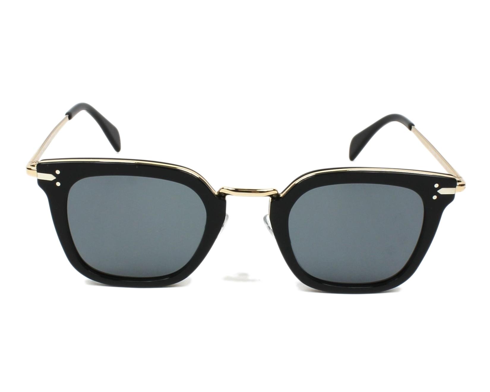 70d3600df7e Sunglasses Céline CL-41402 ANW G8 47-25 Black Gold front view