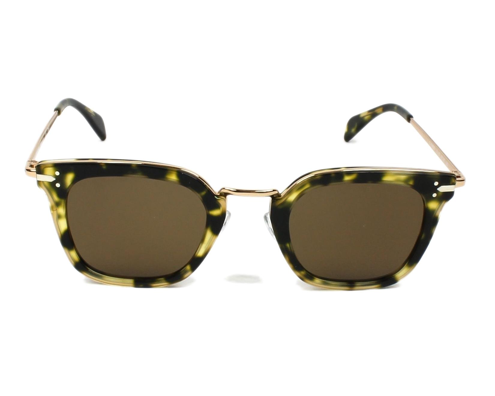 0bac013943d Sunglasses Céline CL-41402 J1L A6 47-25 Havana Gold front view