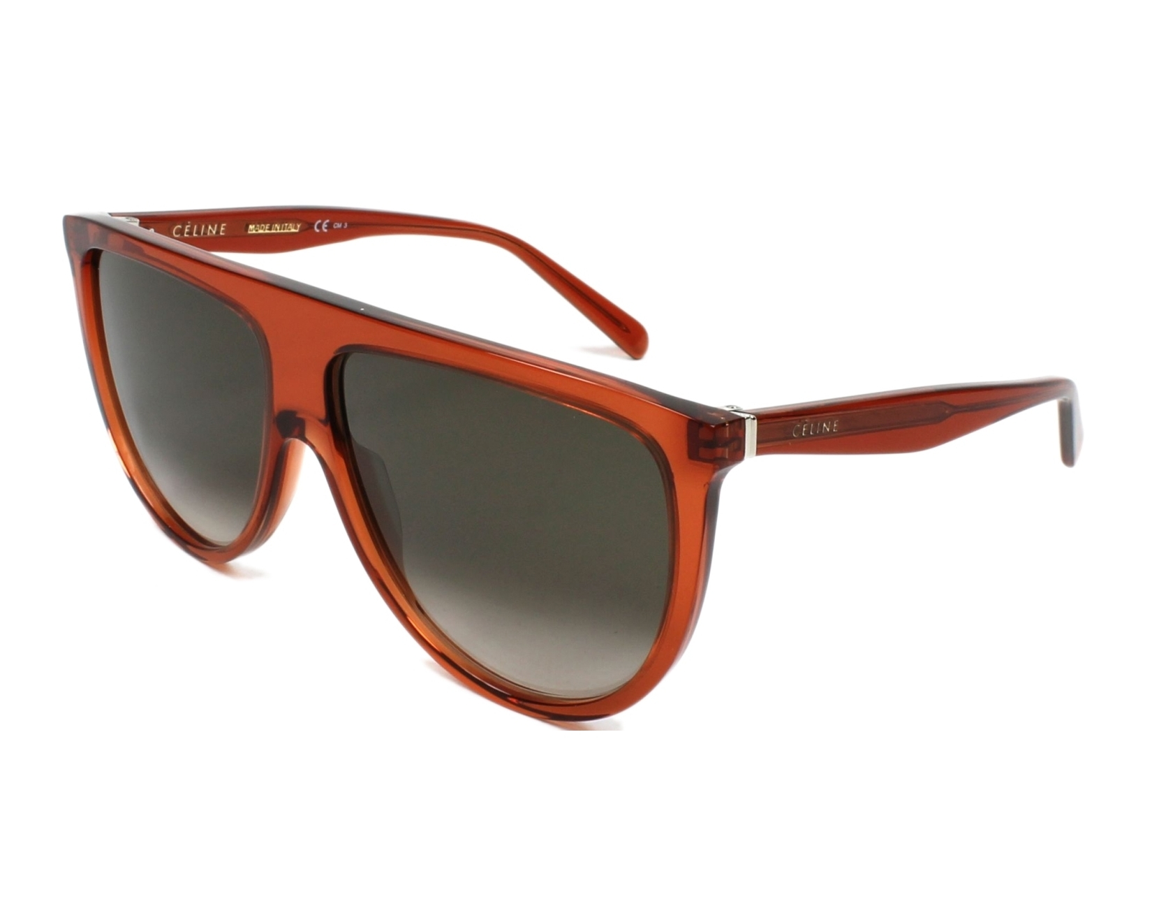 C 233 Line Sunglasses Orange With Brown Lenses Cl 41435 Efb Z3 Visionet Us