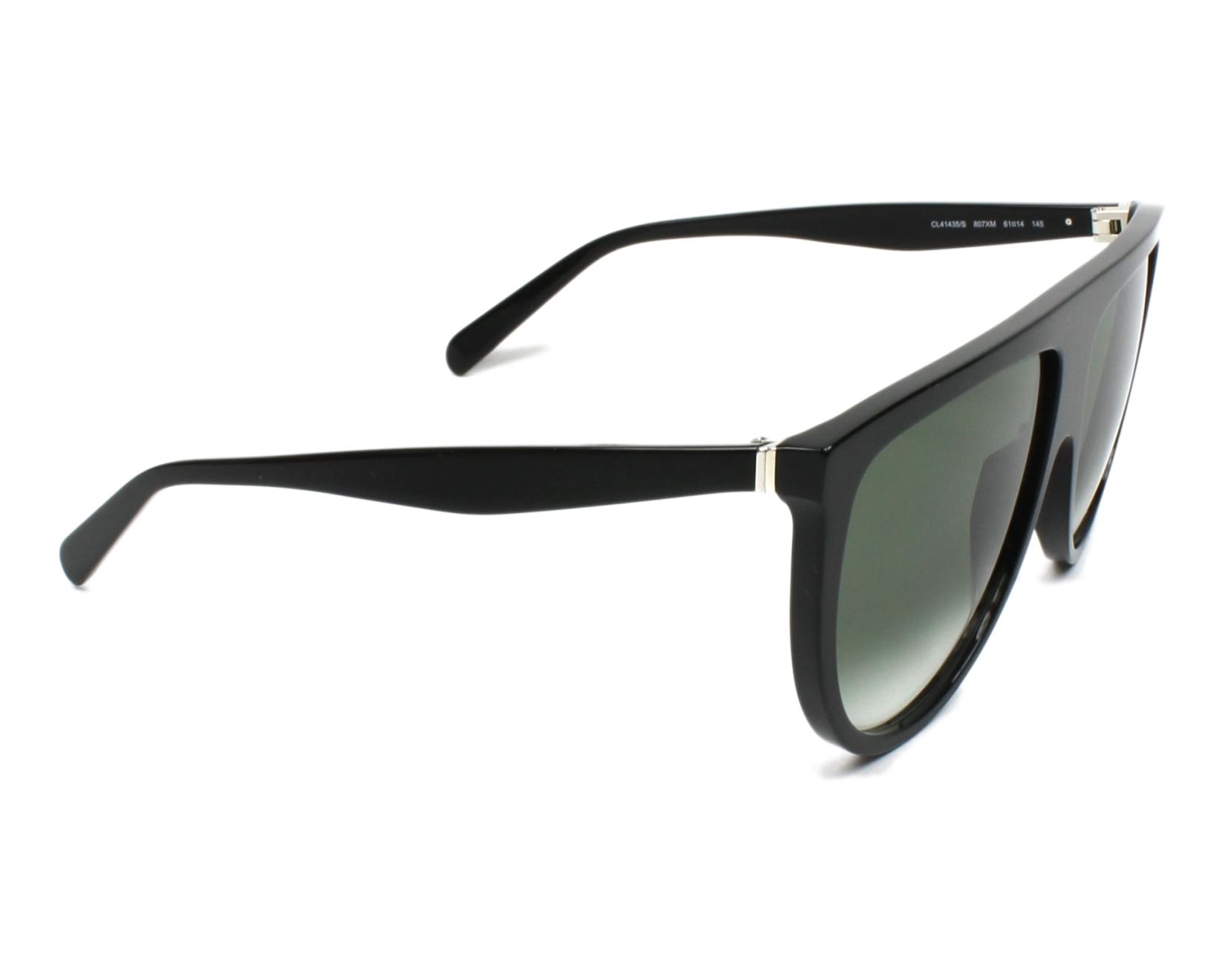 bf5b1125d052 thumbnail Sunglasses Céline CL-41435-S 807 XM - Black side view