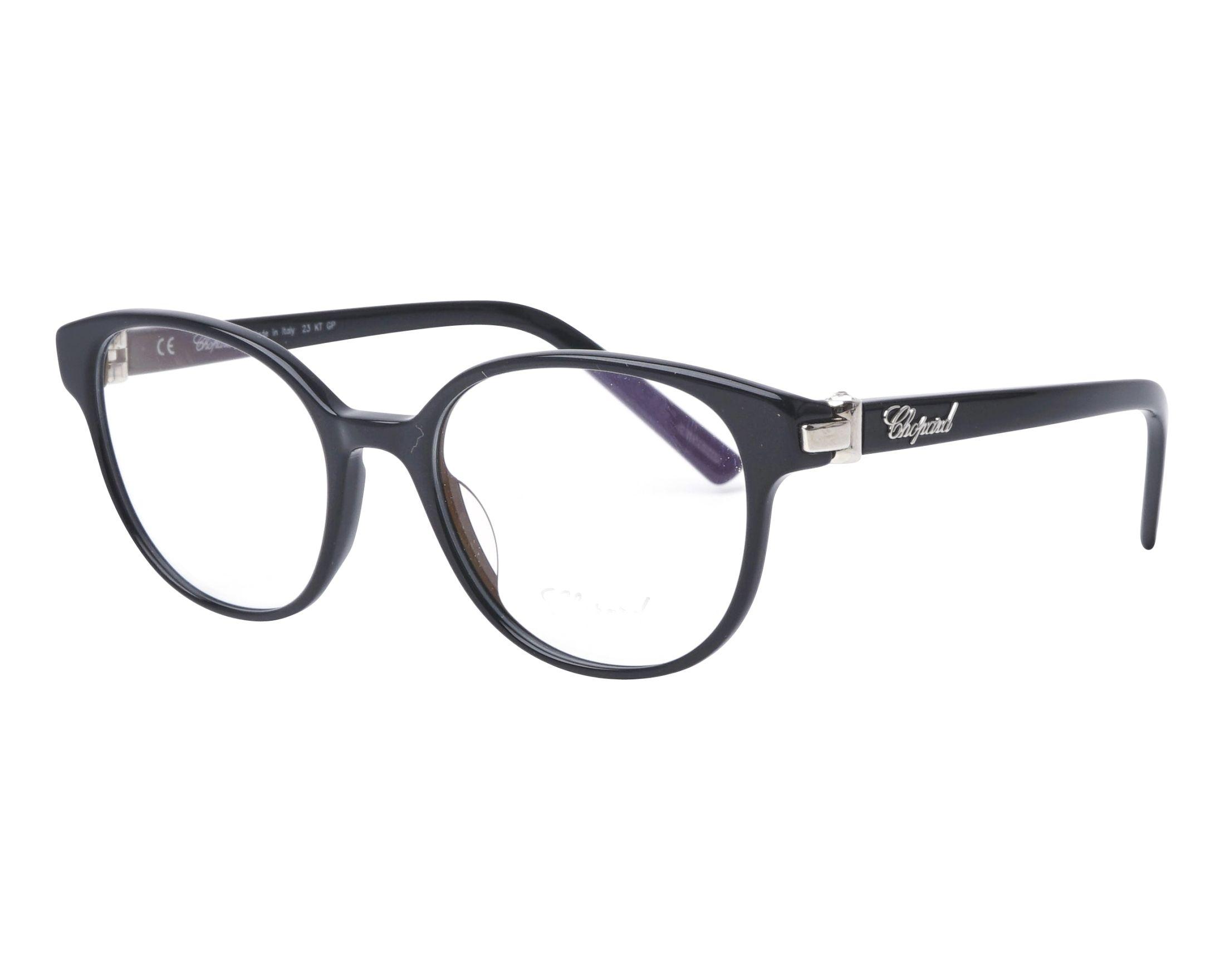 99dc3855a2c eyeglasses Chopard VCH-198-G 0700 51-19 Black profile view