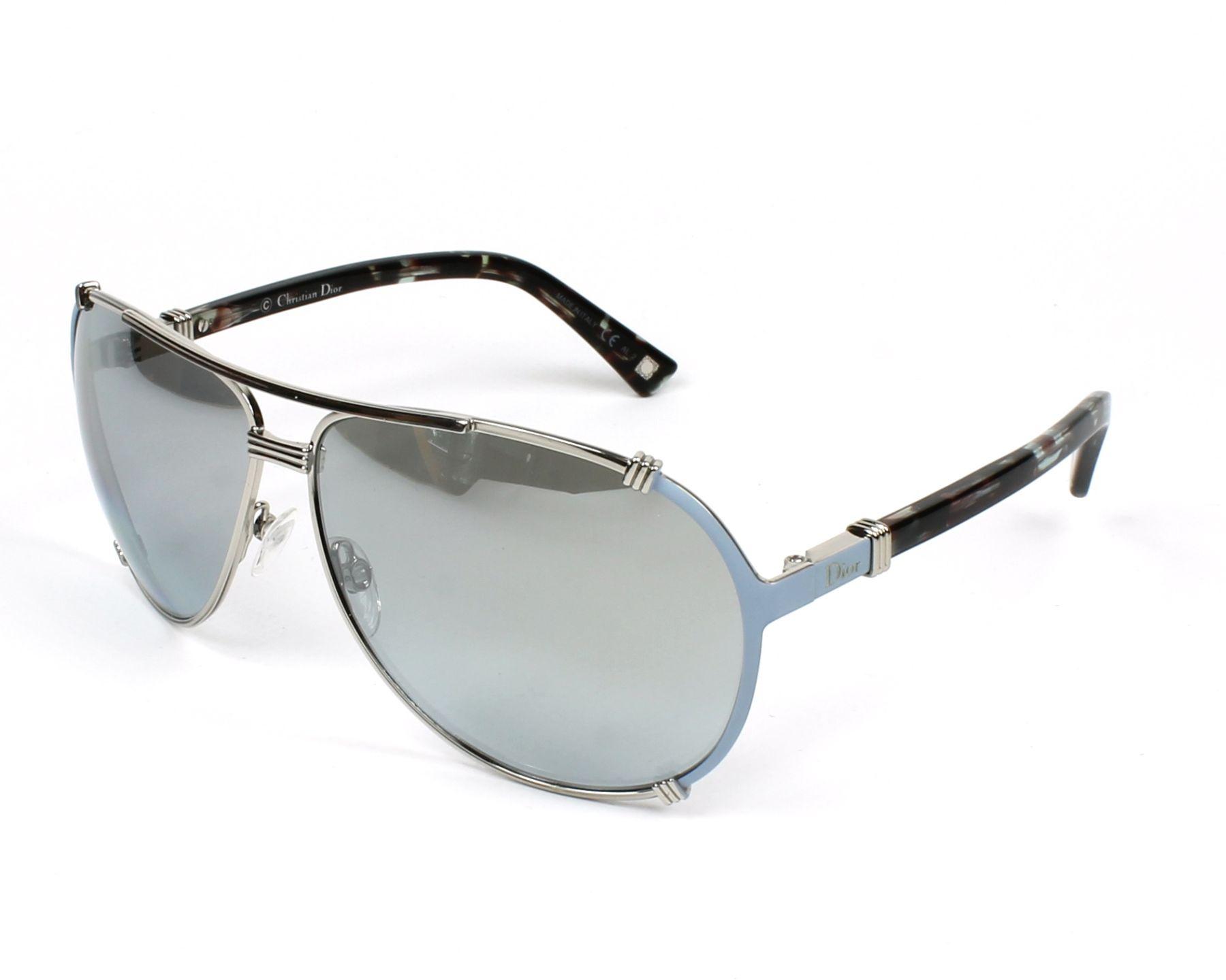 afcde4d76d7 Christian Dior CHICAGO-2 HFP 66. CHRISTIAN DIOR Chicago 2 Aviator  Sunglasses Green 119792