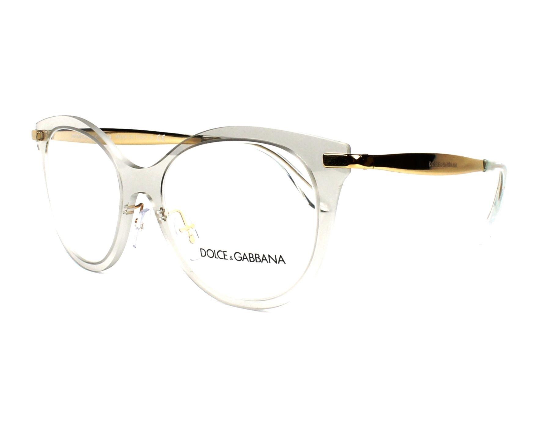 eyeglasses Dolce   Gabbana DG-1292 3073 - Crystal Gold profile view 728c69c6f9