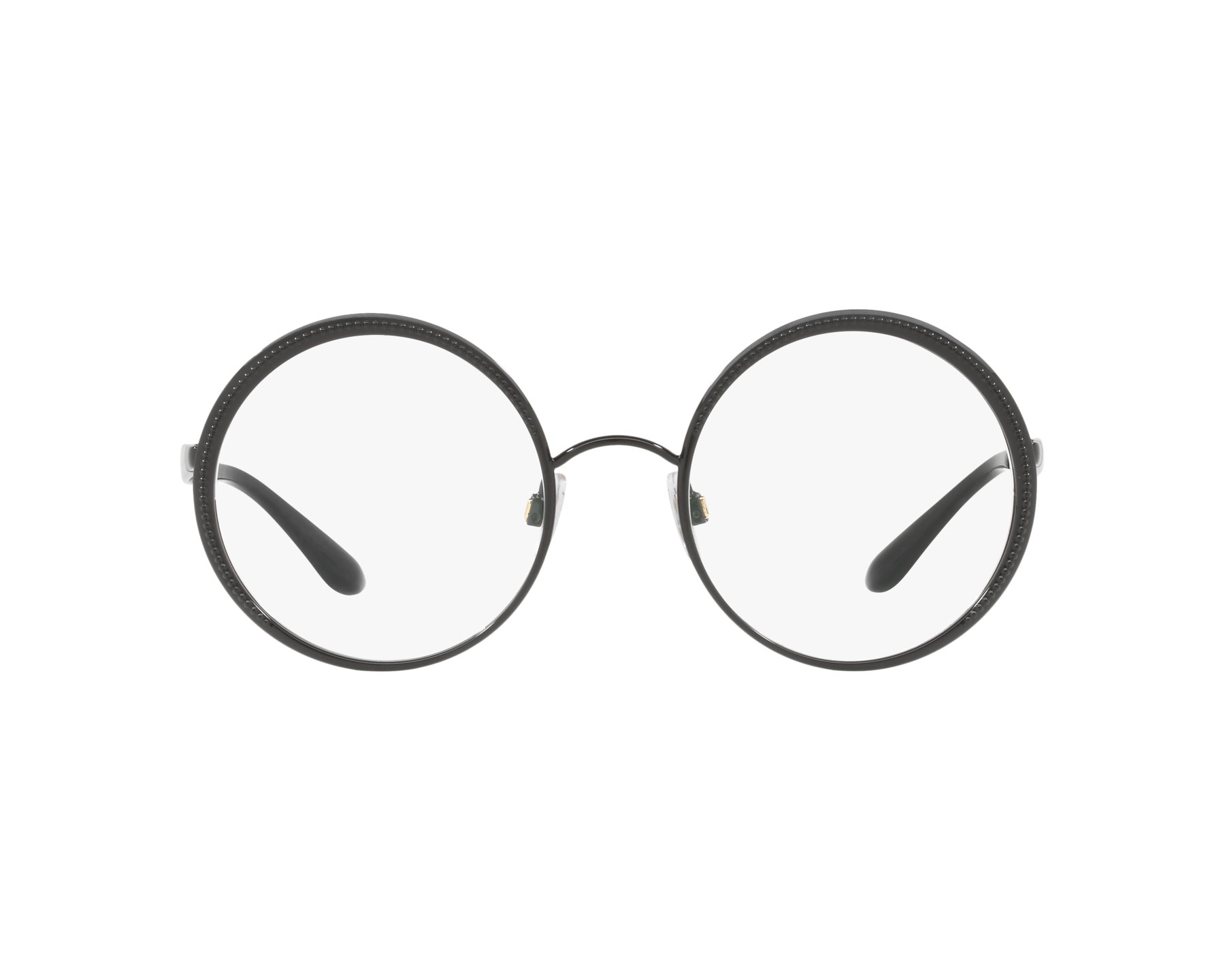 eyeglasses Dolce & Gabbana DG-1297 01 52-21 Black 360 degree view 1