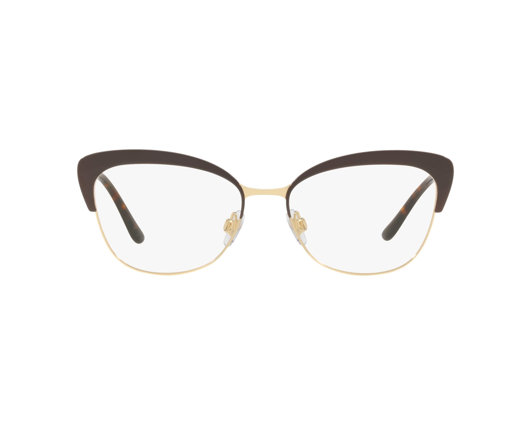 eyeglasses Dolce & Gabbana DG-1298 1315 54-16 Brown Gold 360 degree view
