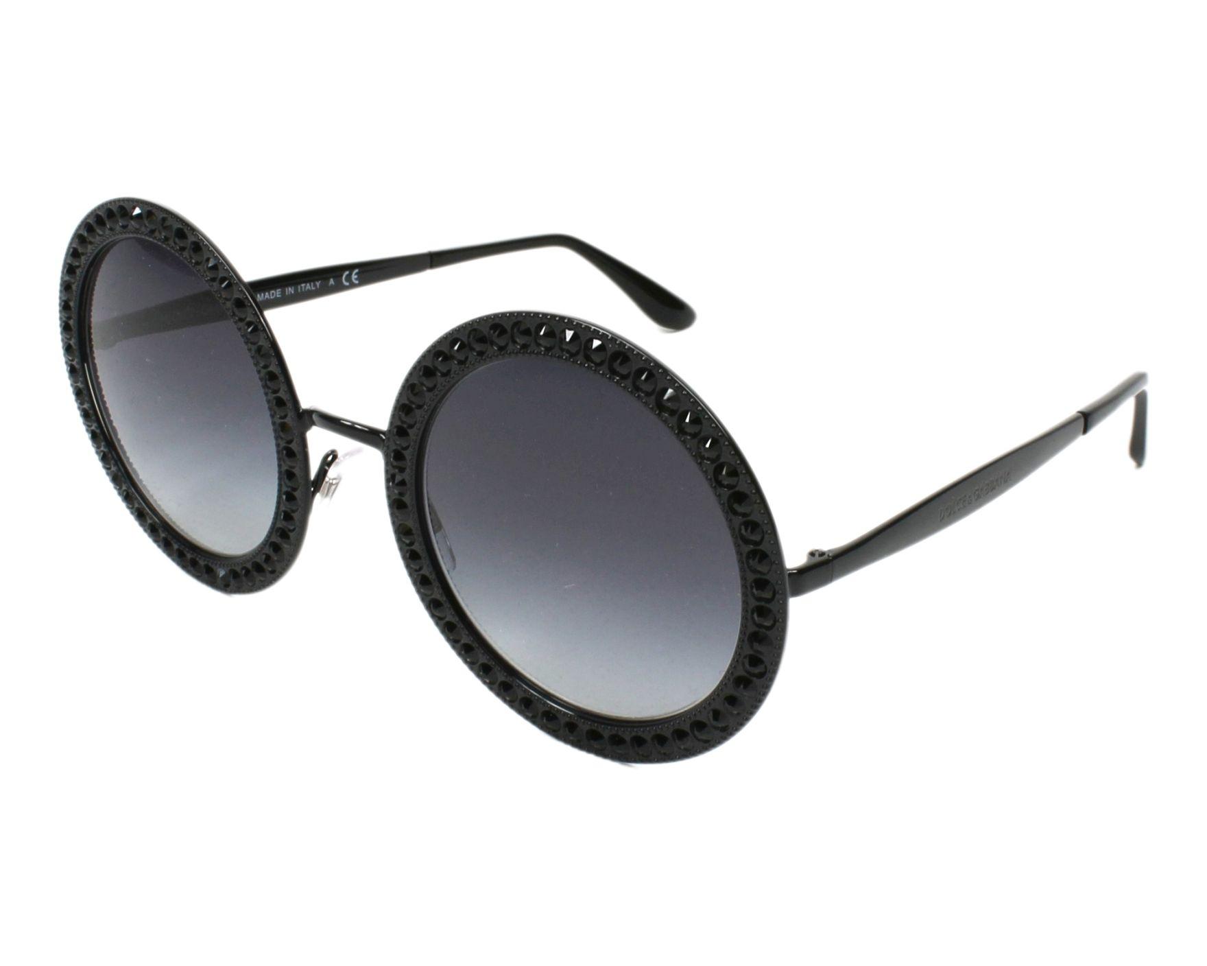 Dolce & Gabbana Sunglasses Black with Grey Lenses DG-2170-B 01/8G ...