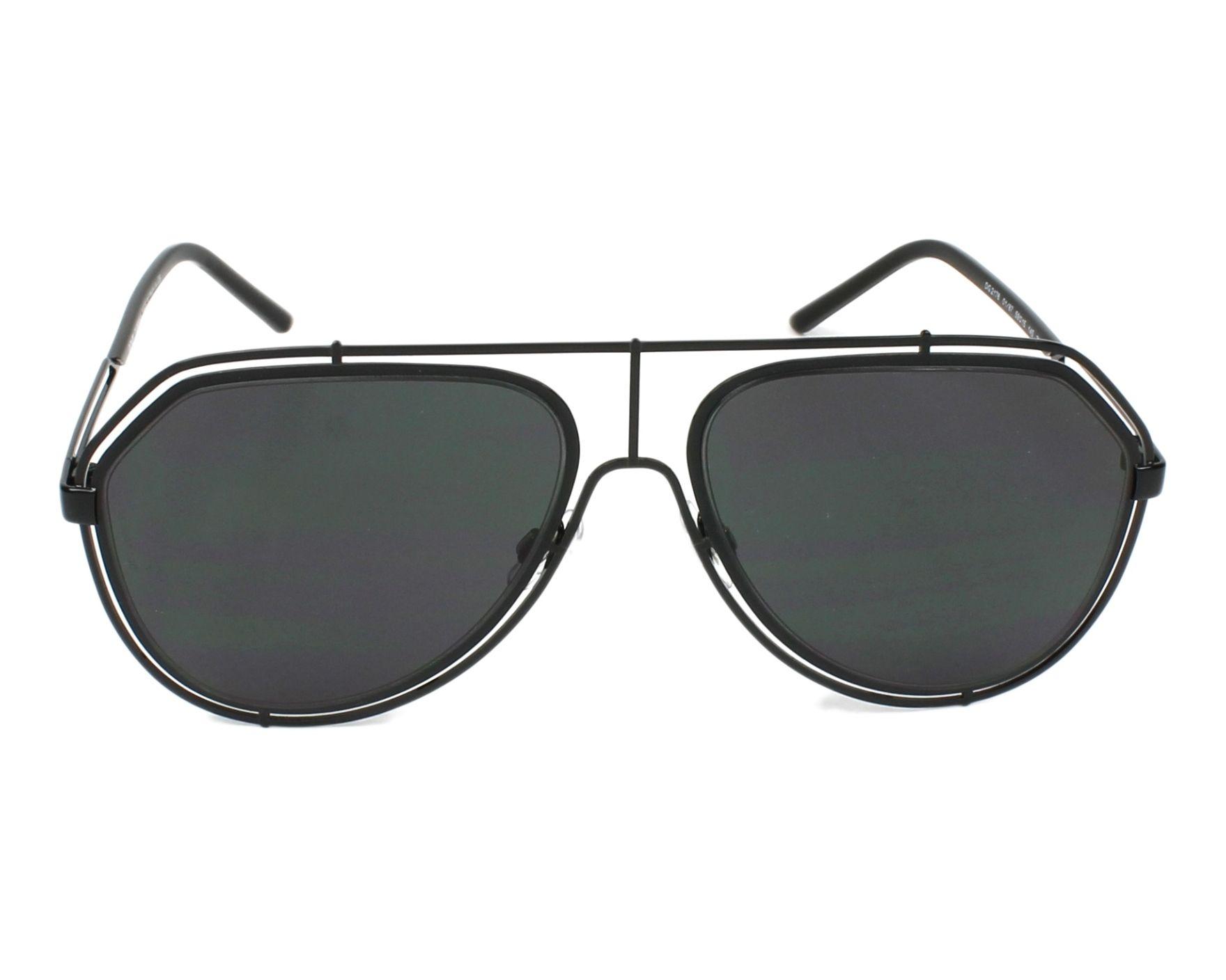 3e0af0d7dd0 Sunglasses Dolce   Gabbana DG-2176 01 87 59-15 Black front view