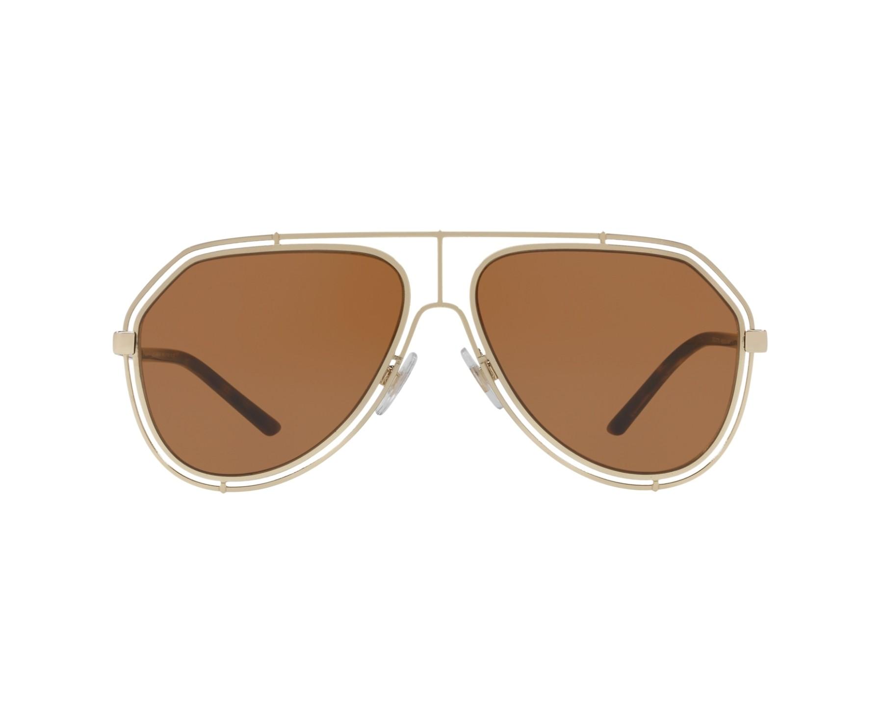 6c02b0a4e198 Sunglasses Dolce   Gabbana DG-2176 488 73 59-15 Gold 360 degree