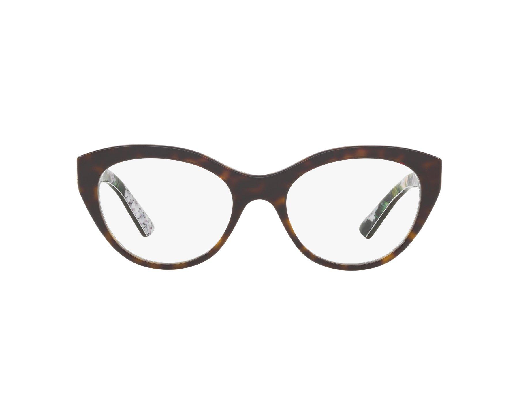 6f0b0d71856 eyeglasses Dolce   Gabbana DG-3246 3151 - Havana Green 360 degree view 1