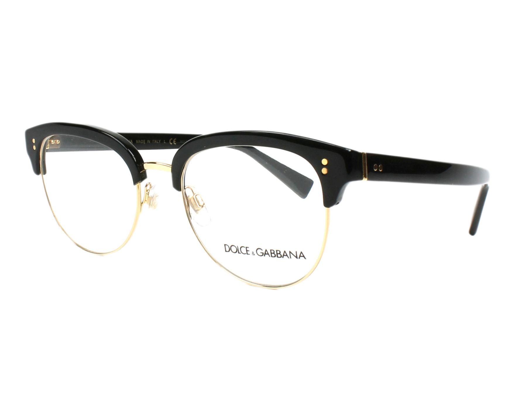 Dolce & Gabbana Eyeglasses Black DG-3270 501 - Visionet US