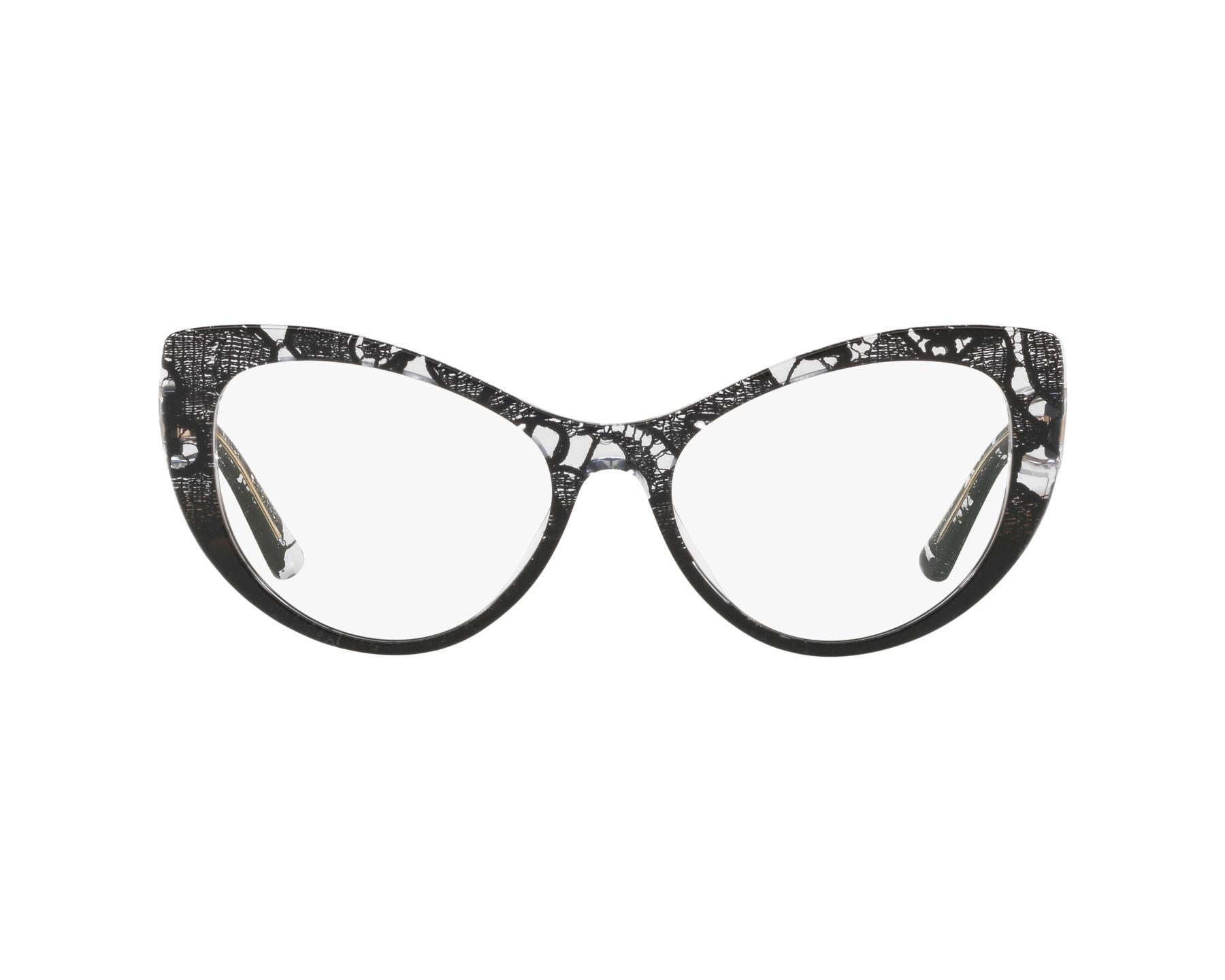 Dolce & Gabbana Eyeglasses Black DG-3285 3152 - Visionet US