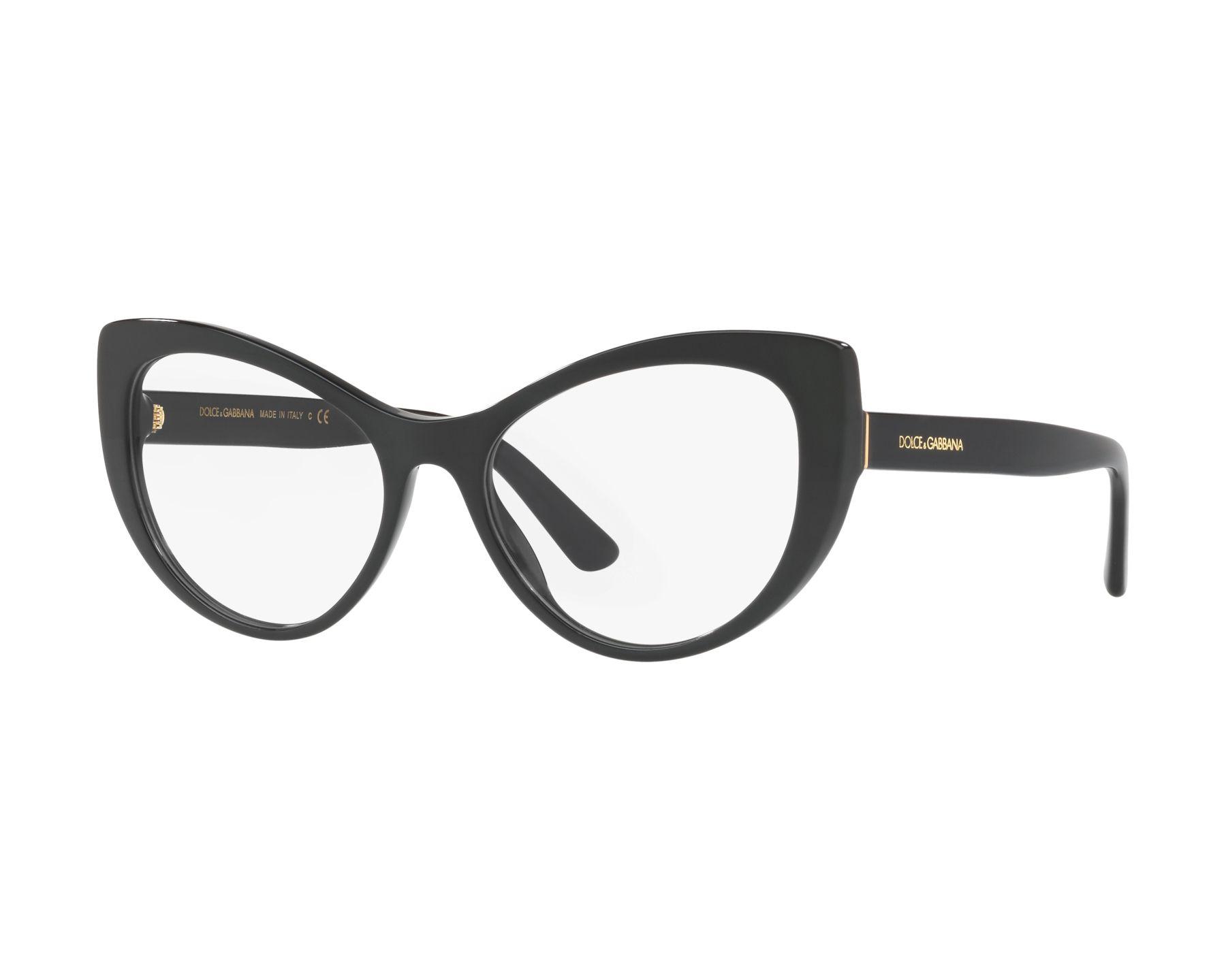a6df9e4ab890 eyeglasses Dolce   Gabbana DG-3285 501 52-17 Black