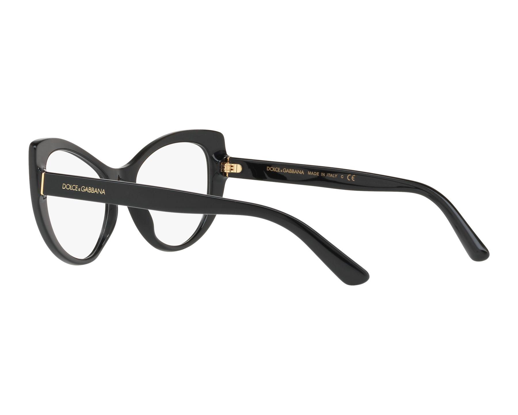 856c27d555e9 eyeglasses Dolce   Gabbana DG-3285 501 52-17 Black 360 degree view 5
