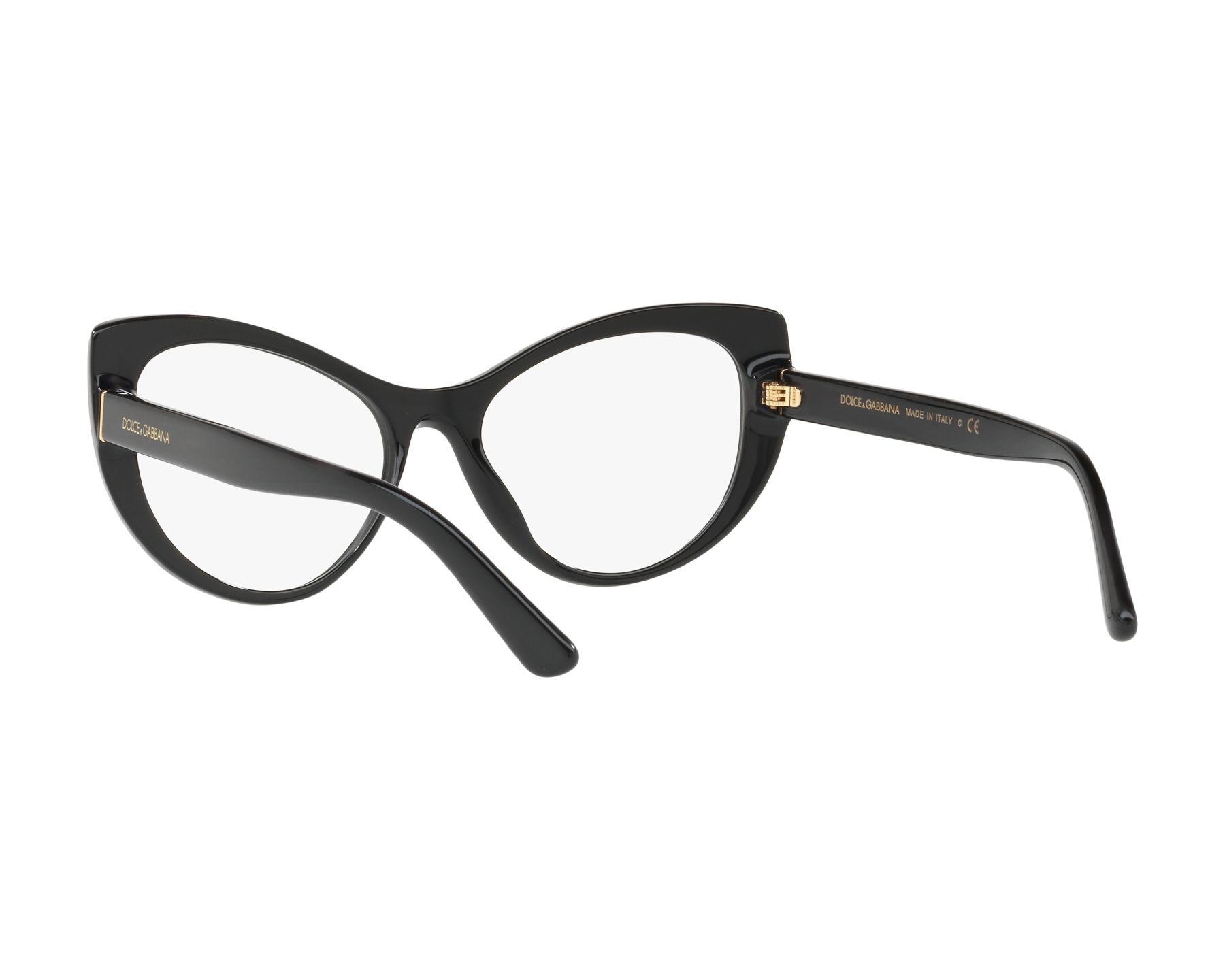 5471b8527c84 eyeglasses Dolce   Gabbana DG-3285 501 52-17 Black 360 degree view 6