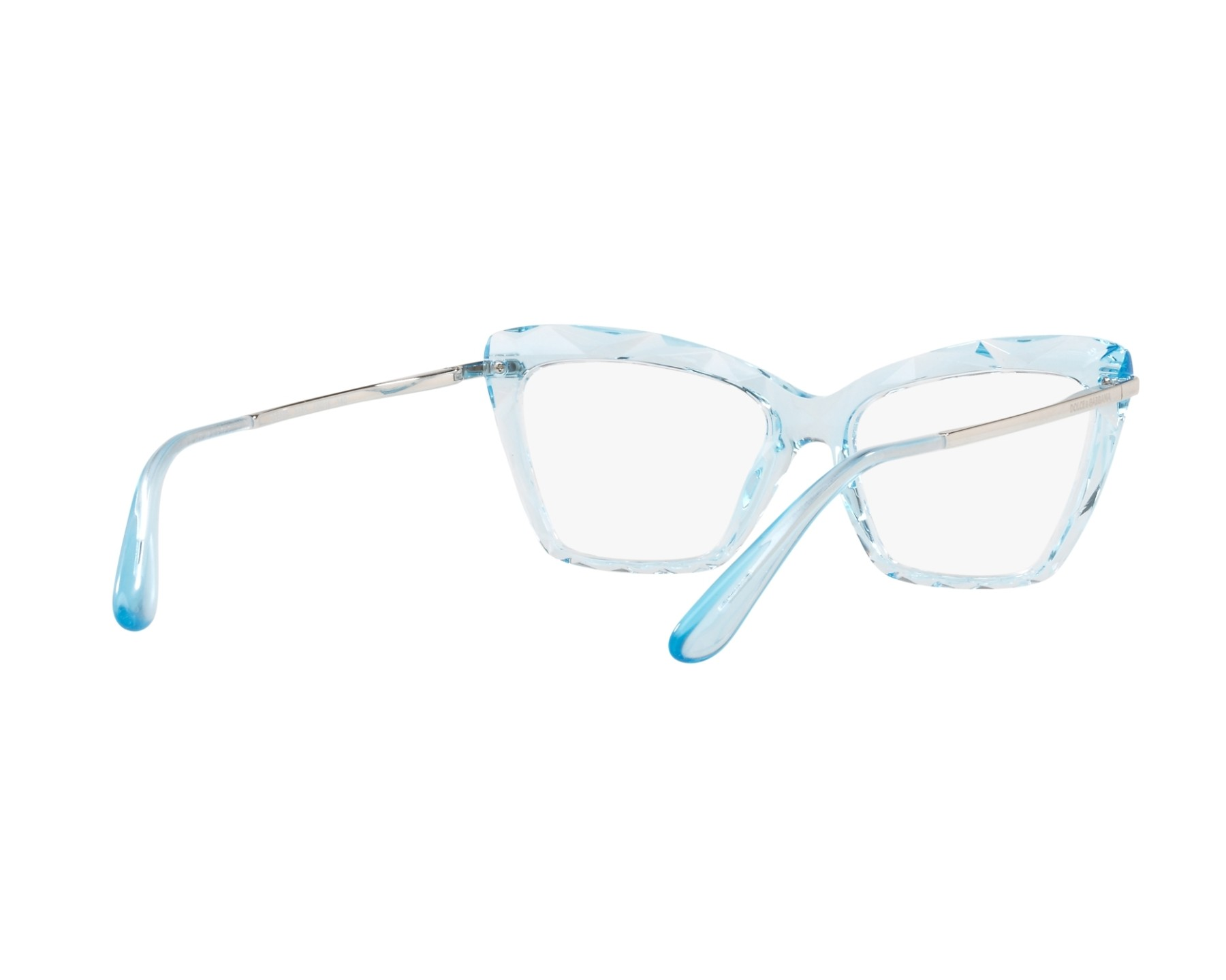 eyeglasses Dolce   Gabbana DG-5025 3134 - Crystal Silver 360 degree view 8 746228c655
