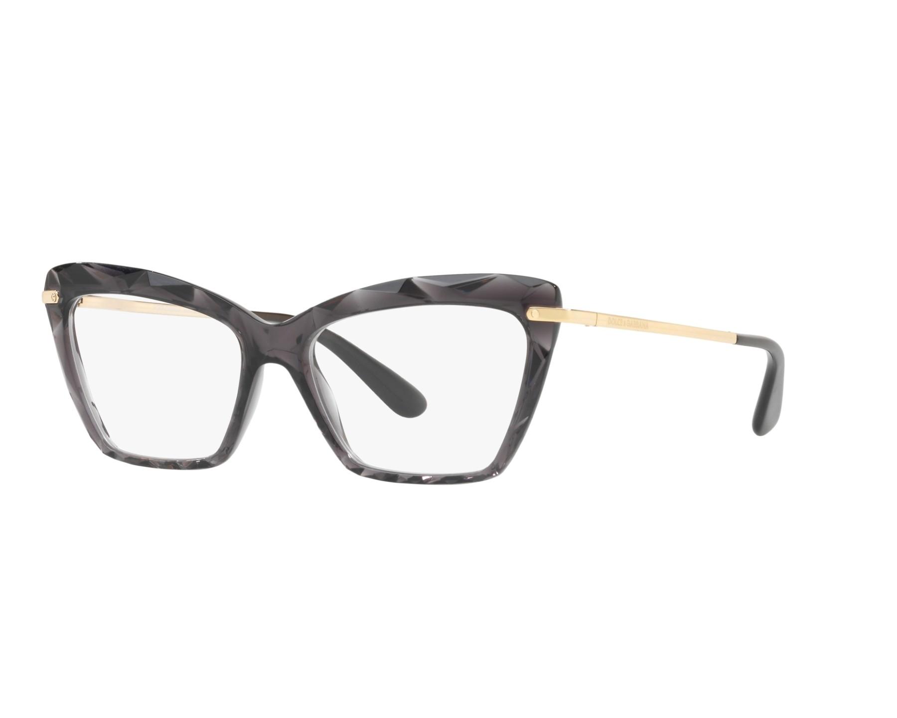 eyeglasses Dolce   Gabbana DG-5025 504 53-15 Black Gold c2e7ee475a