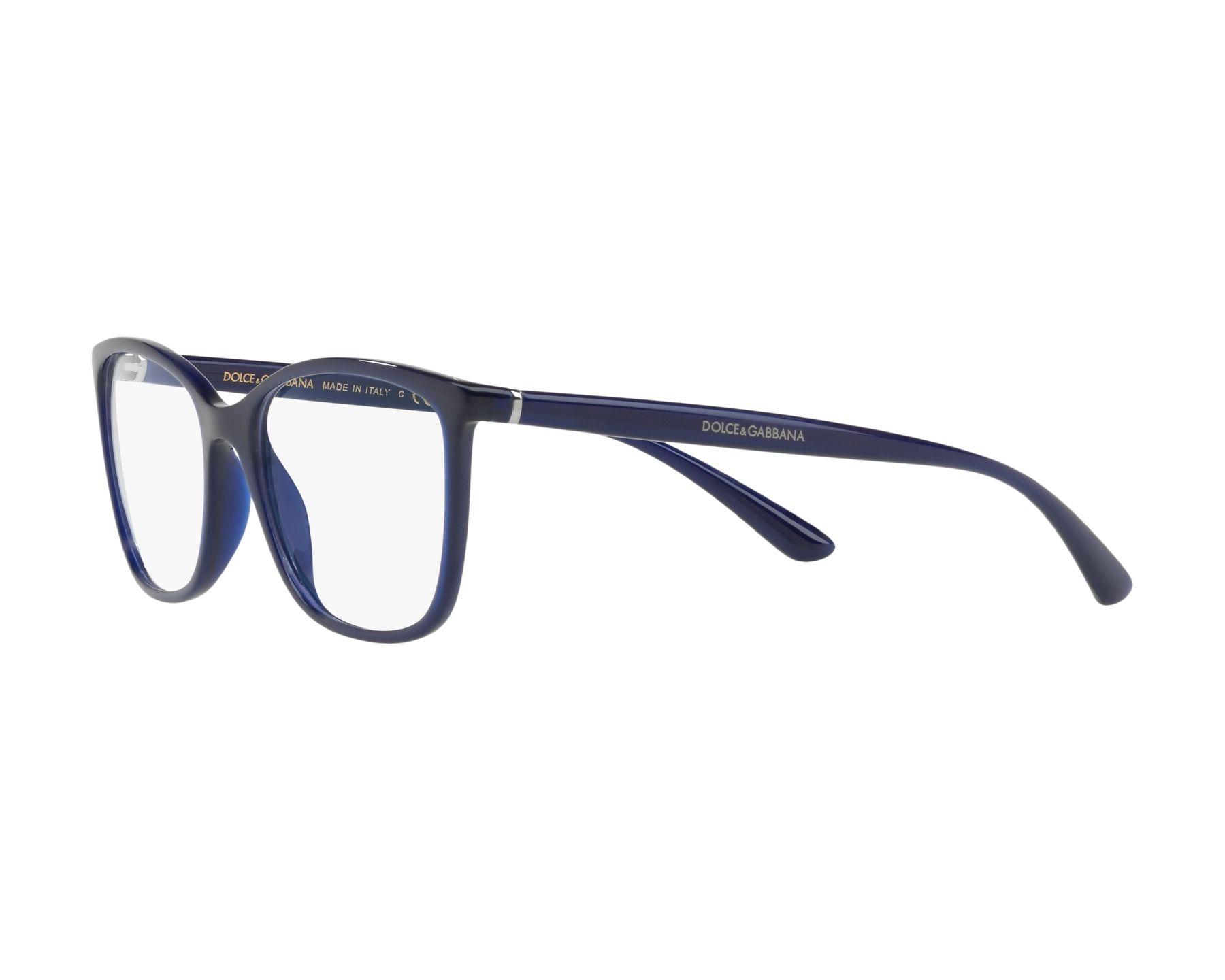 4e597c54fbb eyeglasses Dolce   Gabbana DG-5026 3094 54-17 Blue 360 degree view 3