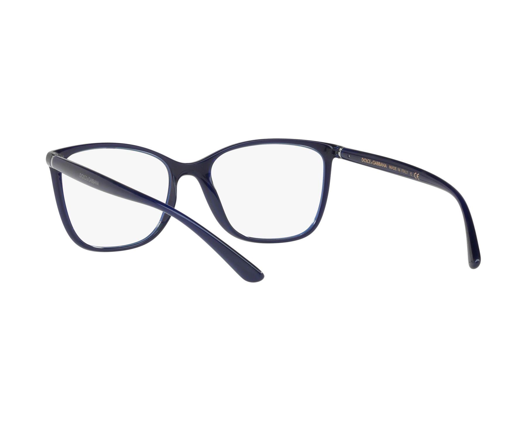 e9999a6ee81 eyeglasses Dolce   Gabbana DG-5026 3094 54-17 Blue 360 degree view 6