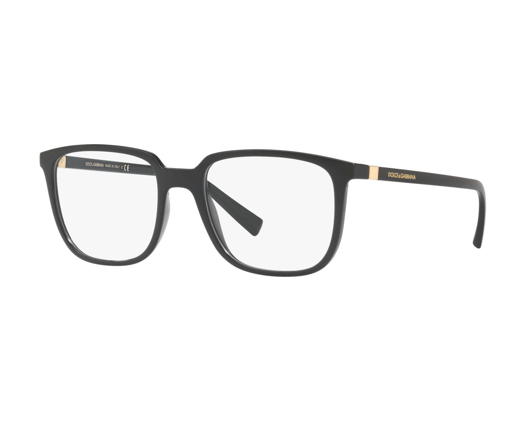 8e8eb2a406e eyeglasses Dolce   Gabbana DG-5029 501 54-18 Black Gold