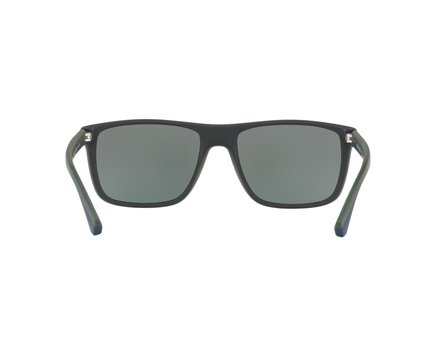 2a537b96af26b Sunglasses Emporio Armani EA-4033 56156R 56-17 Blue Green 360 degree view 7
