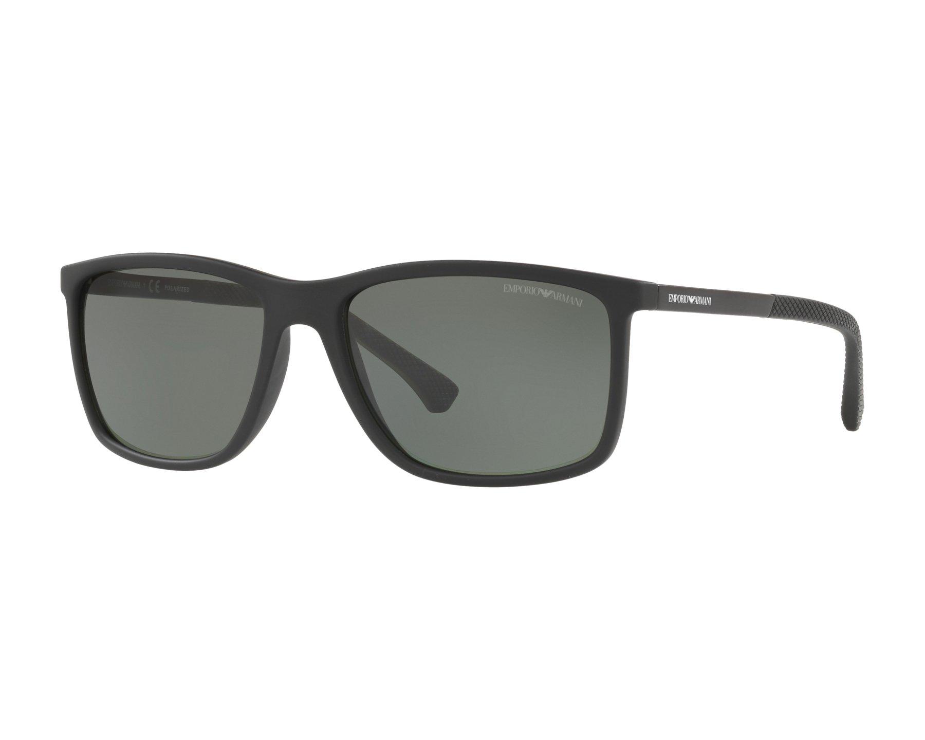 f8796d4f00a Sunglasses Emporio Armani EA-4058 56539A 58-17 Black Black
