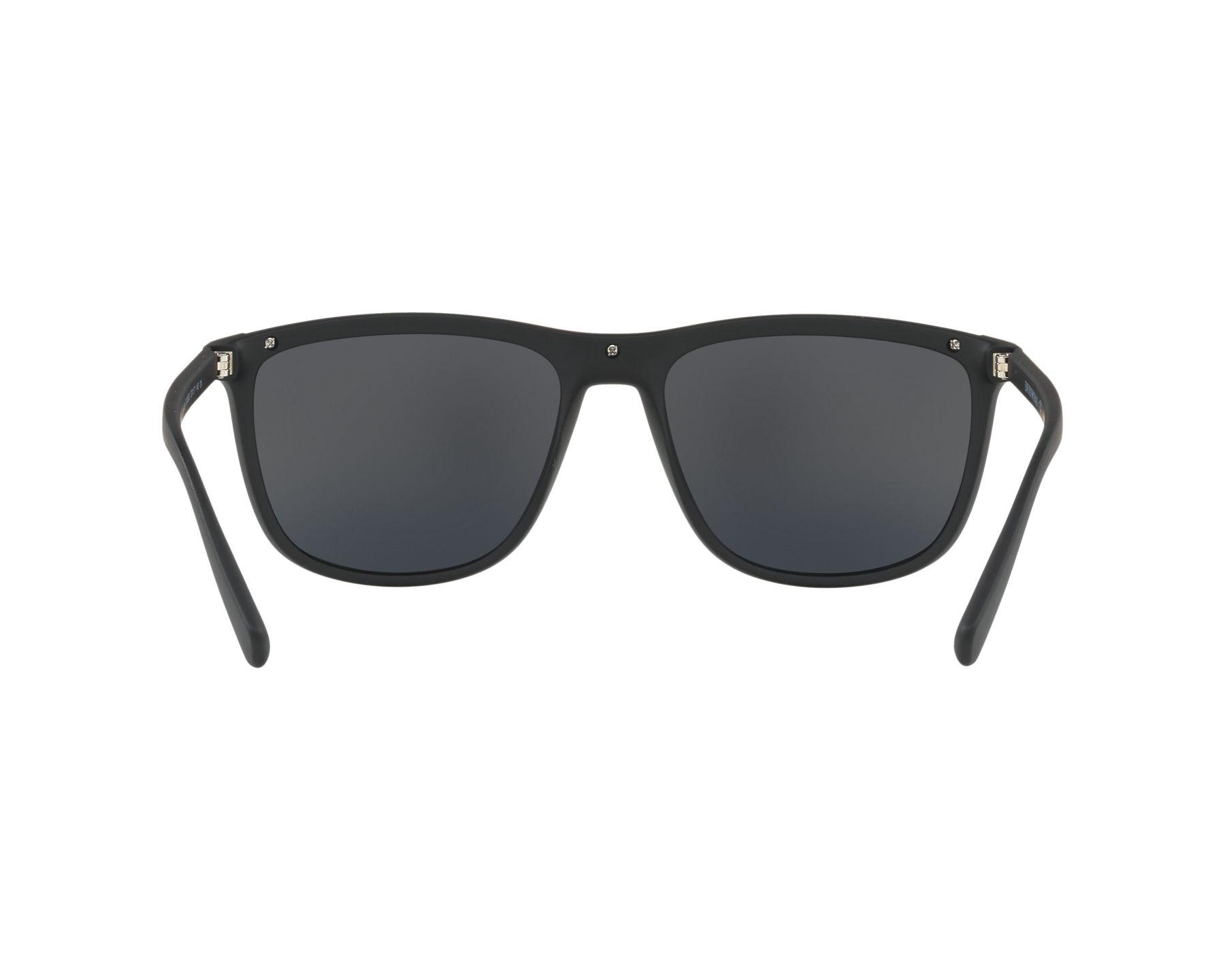 Sunglasses Emporio Armani EA-4109 50426G 57-17 Black Red 360 degree view 7 c56449dca4