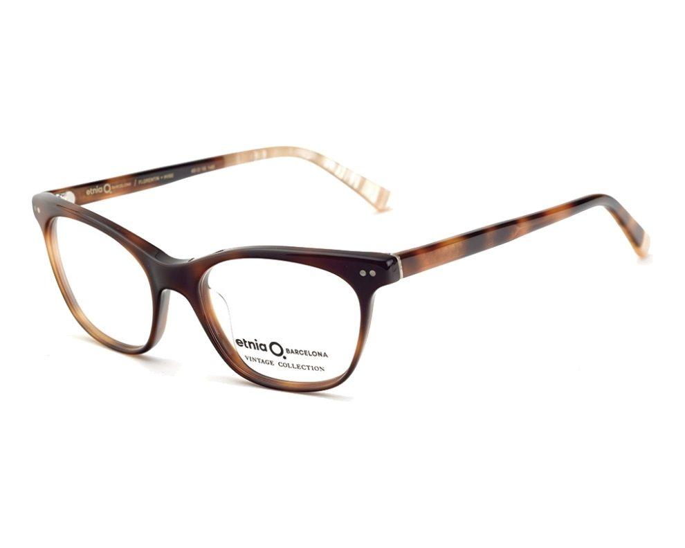 1cea88e91864f0 eyeglasses Etnia Barcelona FLORENTIN-16 HVBE 50-17 Havana Beige front view