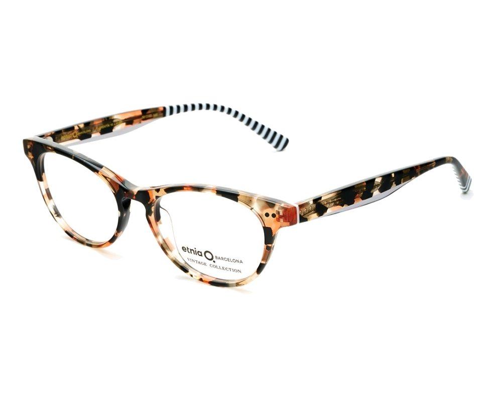 6773ab959c4870 eyeglasses Etnia Barcelona FLORENTIN-16 HVBK 50-17 Havana Rosa profile view