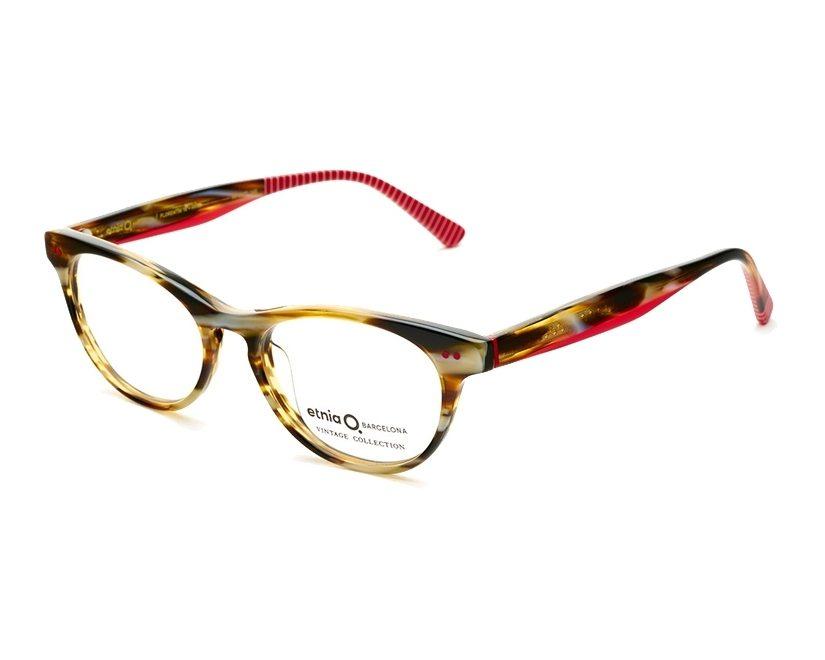 f74771445f1496 eyeglasses Etnia Barcelona FLORENTIN-16 HVRD 50-17 Havana Red side view