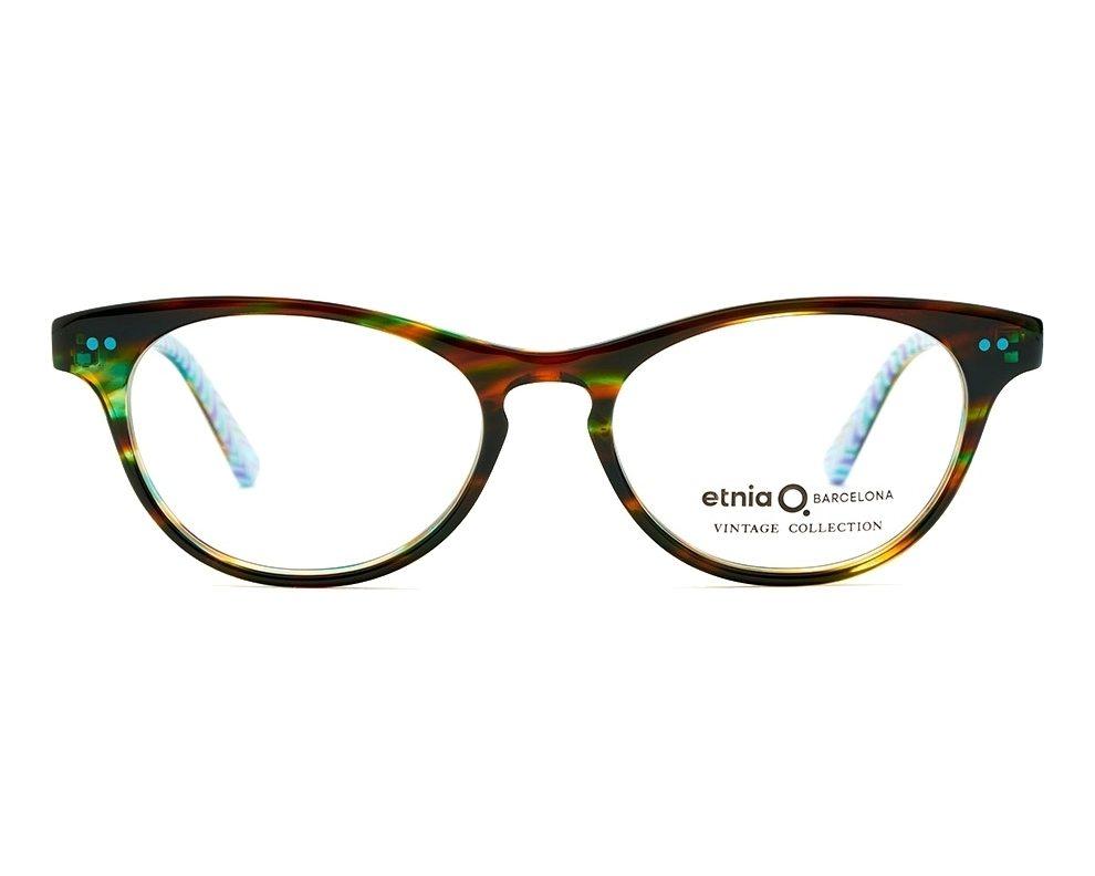 d6caa0a5e26ab4 eyeglasses Etnia Barcelona FLORENTIN-16 HVTQ 50-17 Havana Turquoise front  view