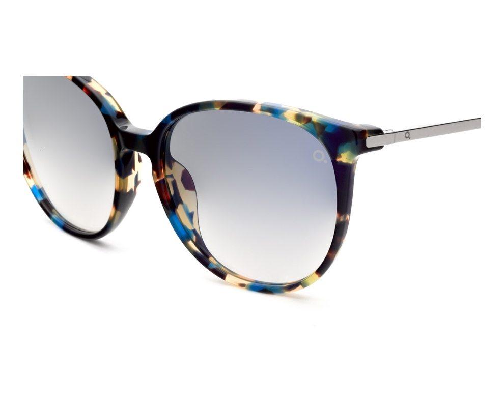 abe74a51d34 Sunglasses Etnia Barcelona ICARIA HVBL 56-18 Havana Blue profile view