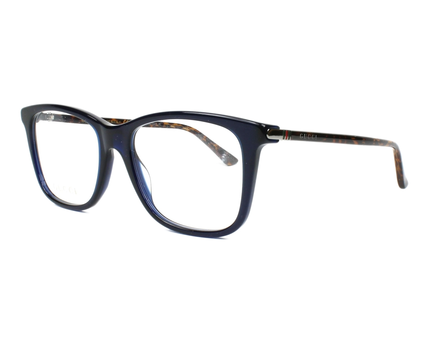 Gucci Eyeglasses Blue GG-00180 007 - Visionet US