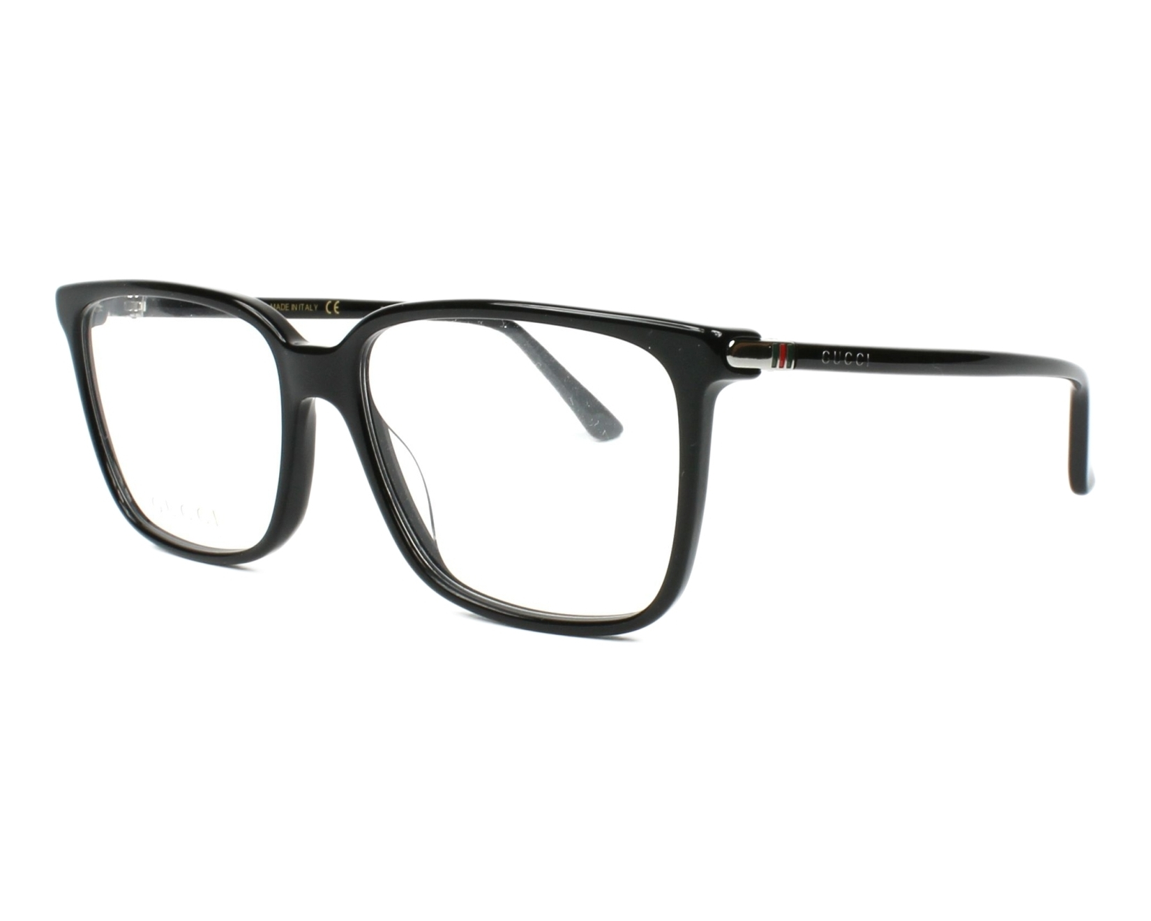 Gucci Eyeglasses Black GG-00190 001 - Visionet US