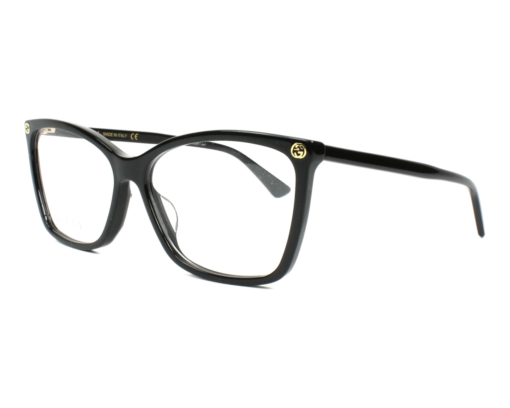 gucci glasses. eyeglasses gucci - gg00250 001 glasses