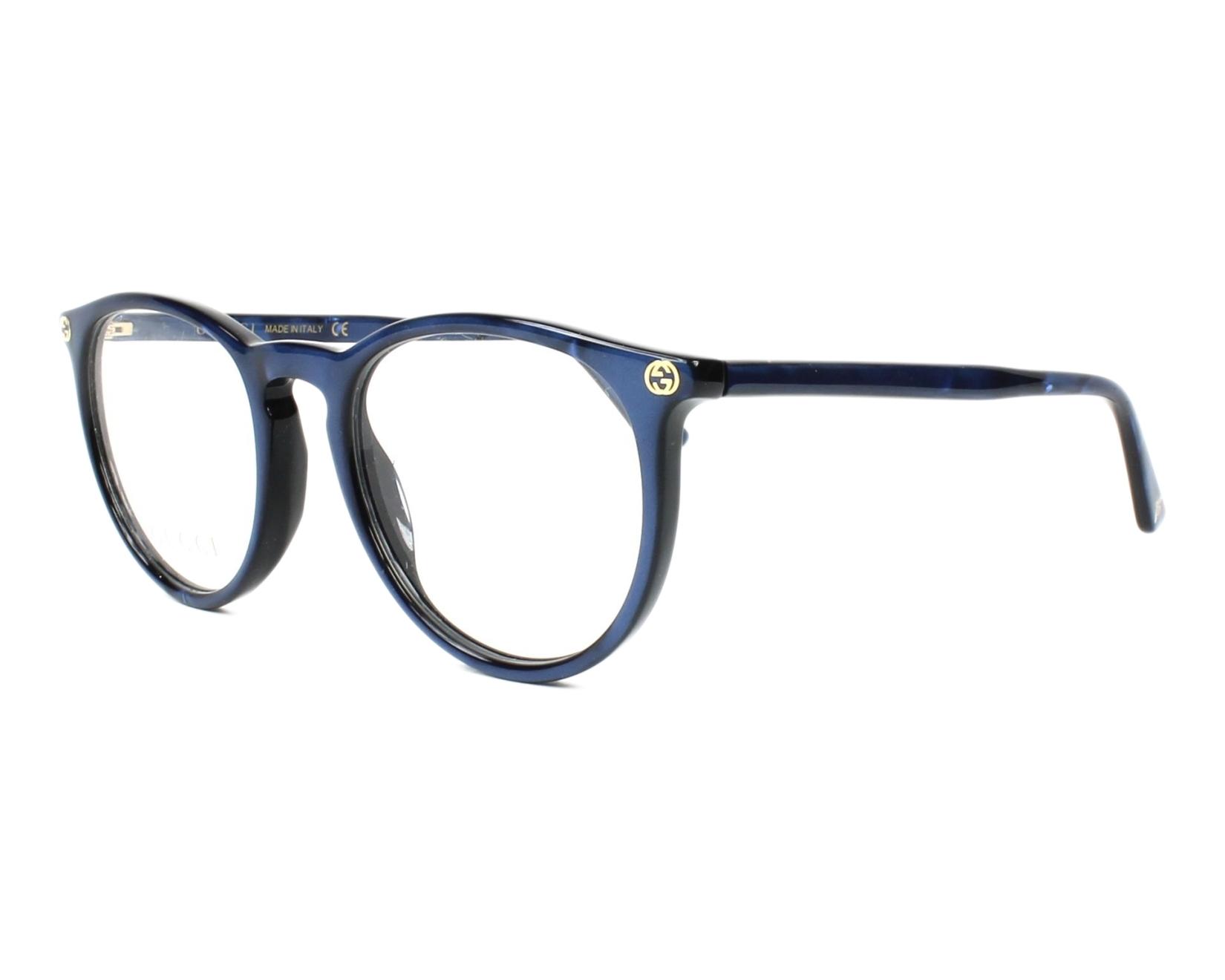 Gucci Eyeglasses Blue GG-00270 005 - Visionet US