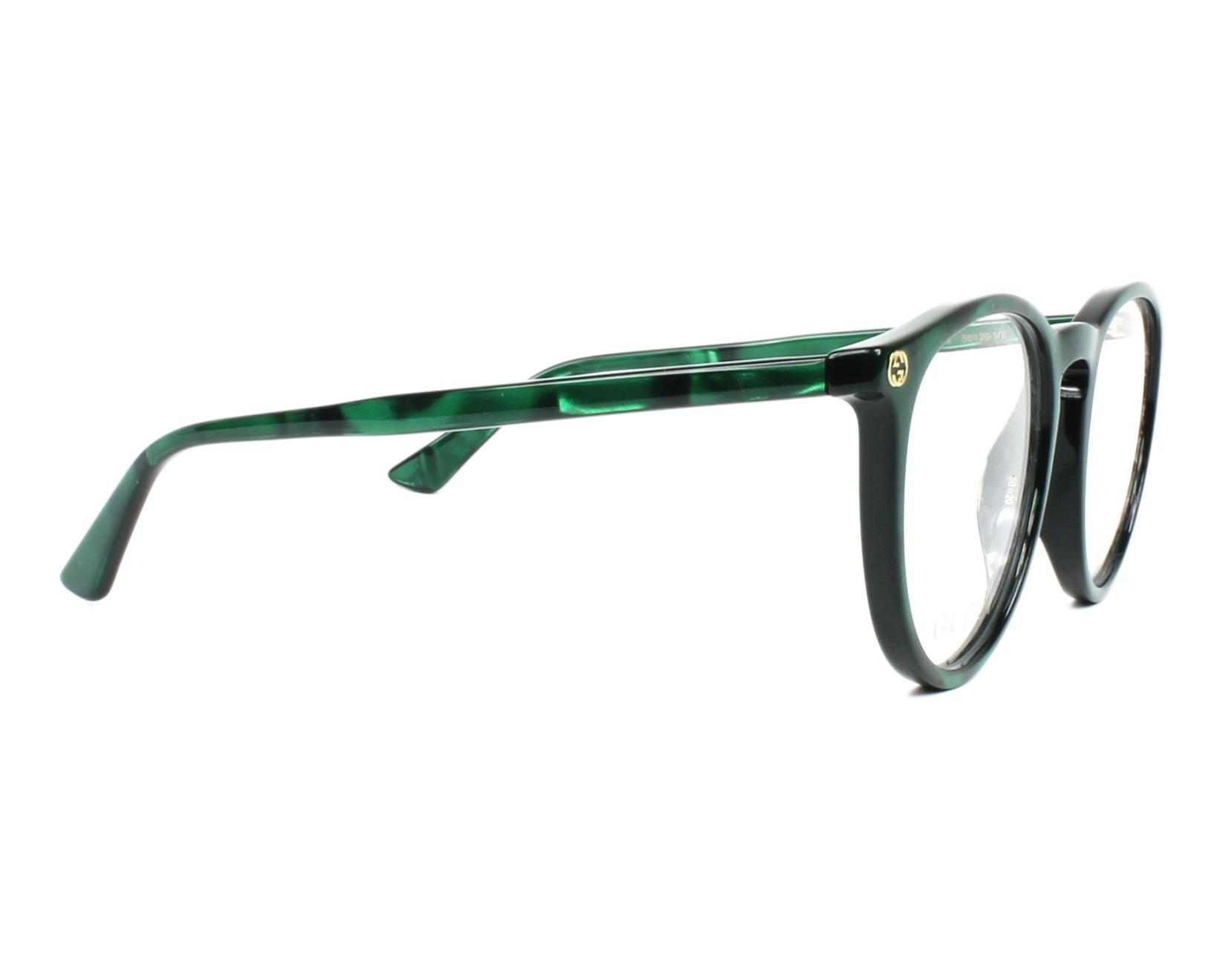3cfffa4d1bee eyeglasses Gucci GG-00270 006 50-20 Green Green side view