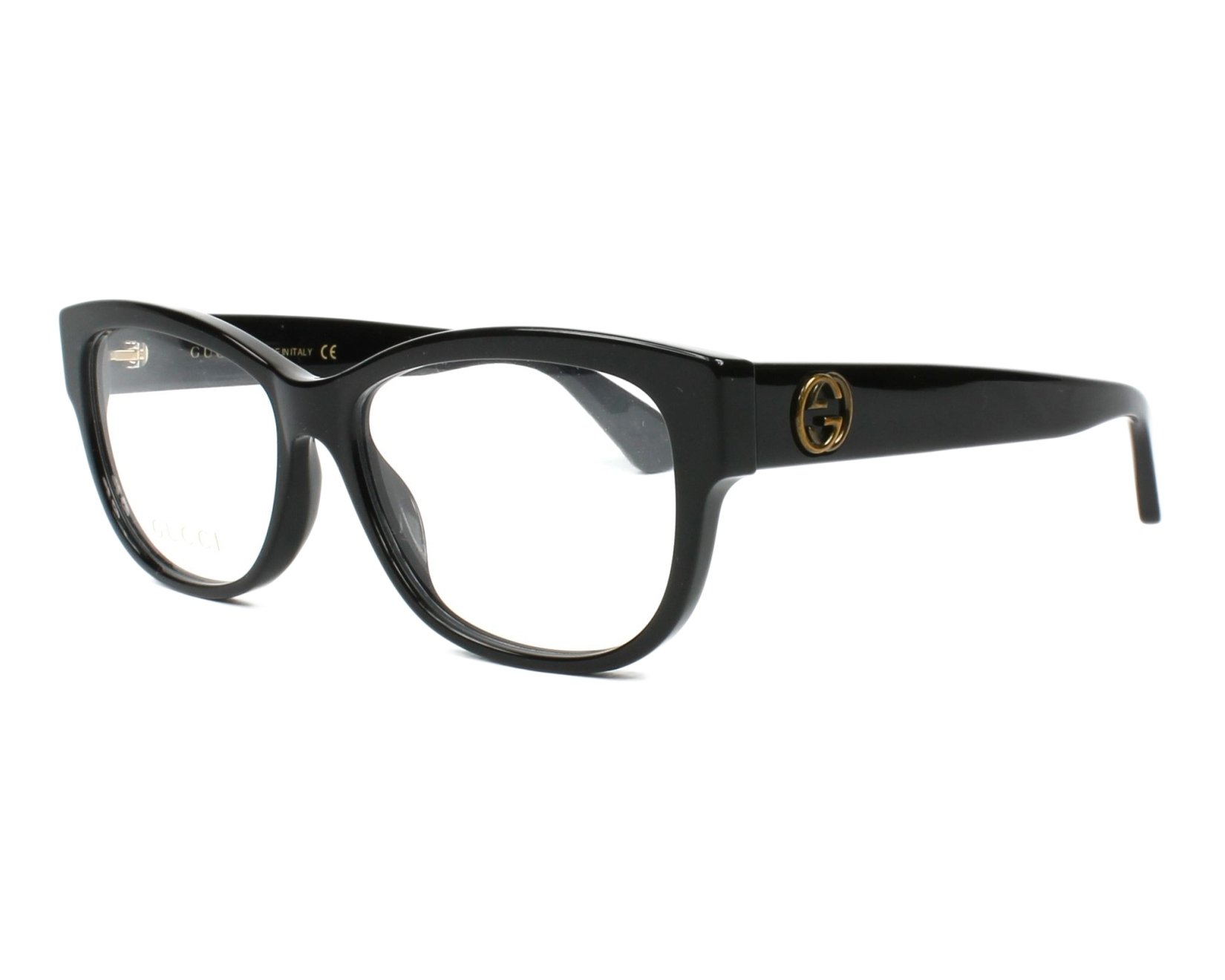 Gucci Eyeglasses GG-00980 001 Black