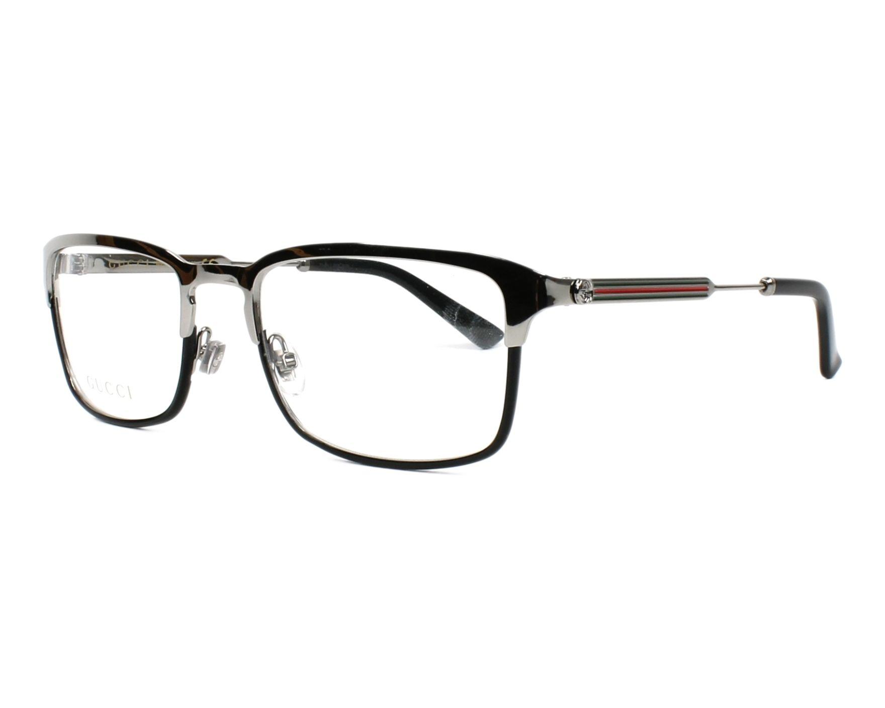 026320bb4e789 ... Full Frame Prescription Eyeglasses Buy Gucci Eyeglasses GG-0135-O 006  Online - Visionet