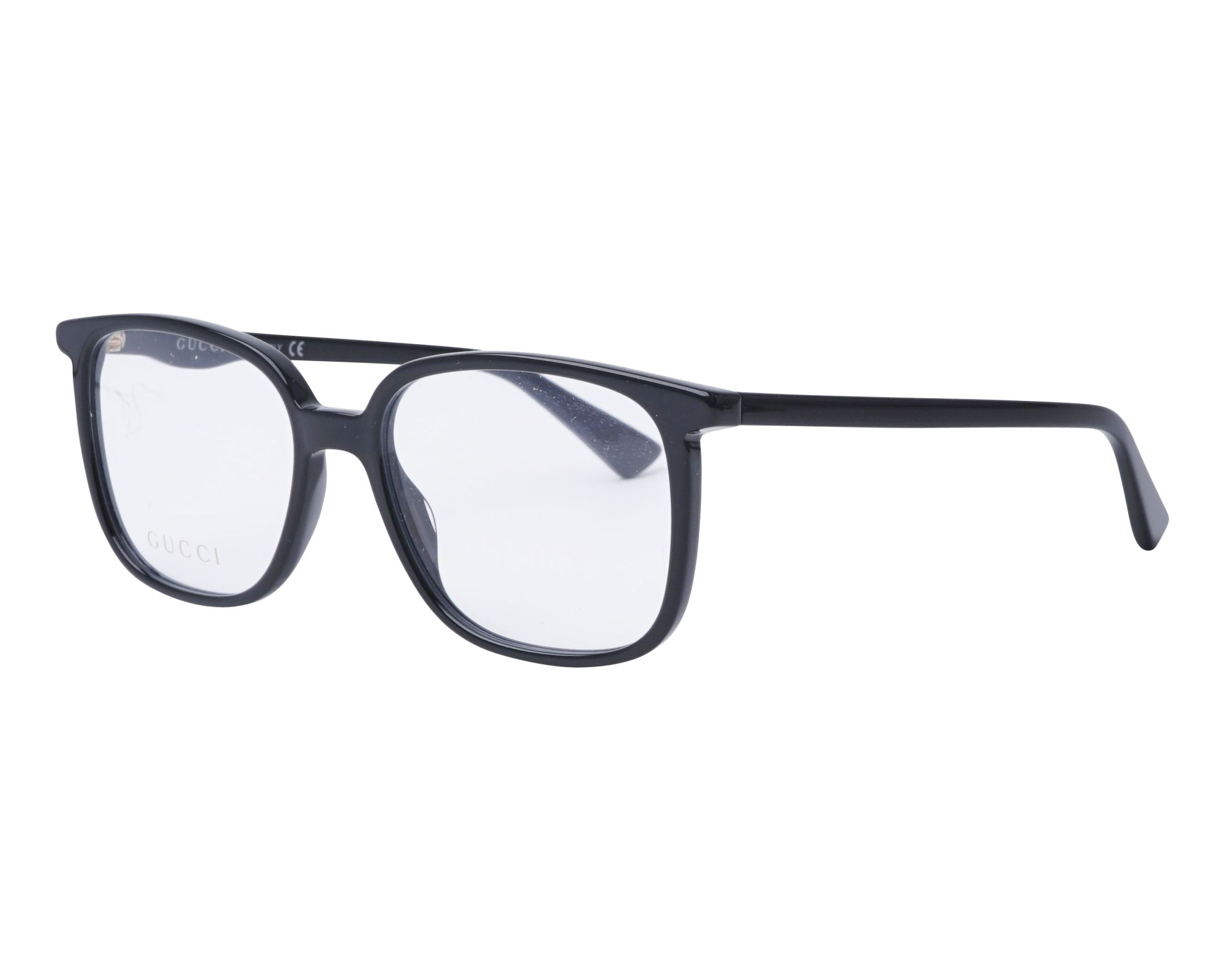 7cce24c2ffc eyeglasses Gucci GG-0260-O 001 53-17 Black profile view