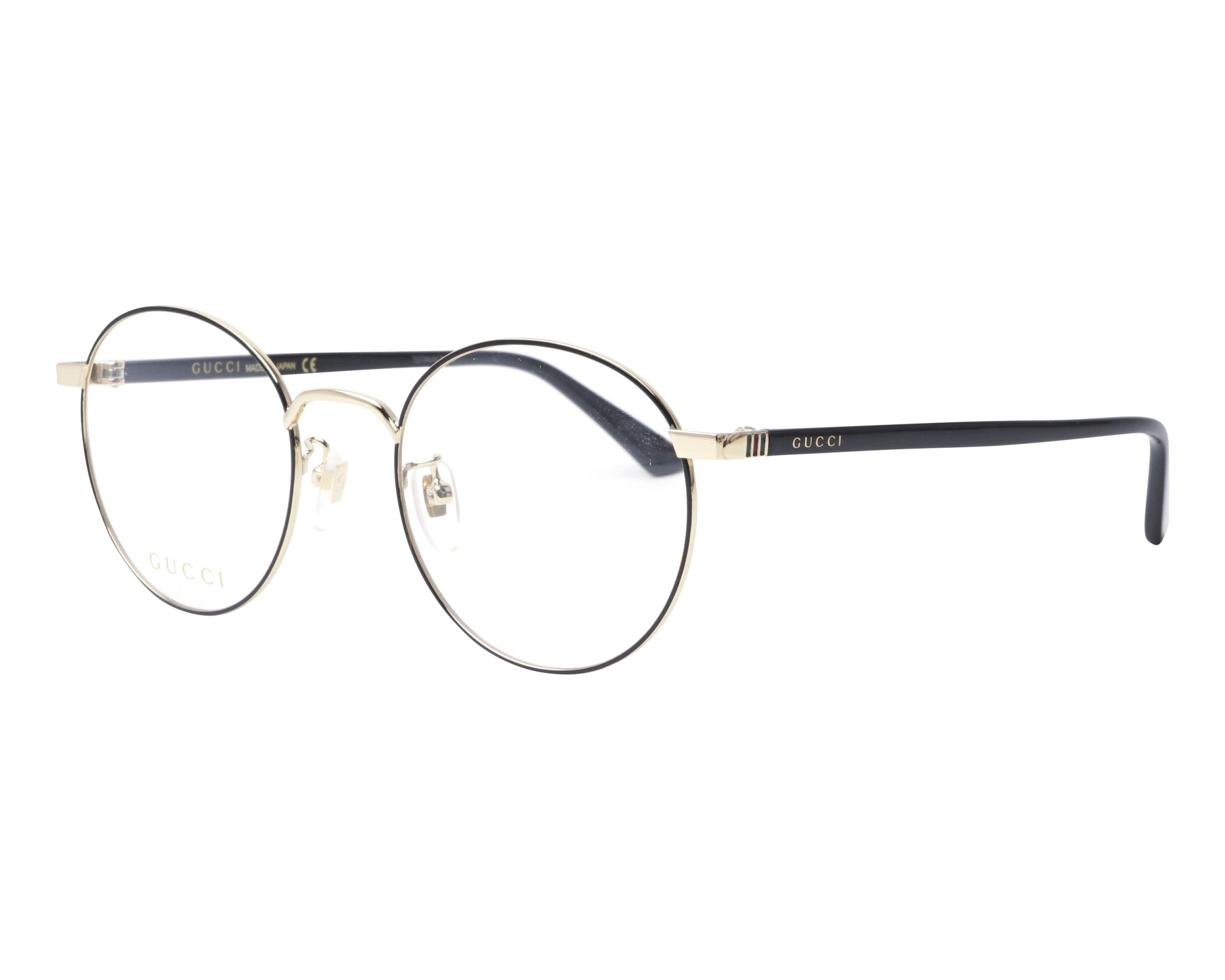 696fb41d860 Gucci Eyeglasses Gg 0297 Ok 003 Visionet. Preview gucci g3565 lady s  optical glasses frame black 4 colors available gucci gg 0011 o 005 55 17  black profile ...
