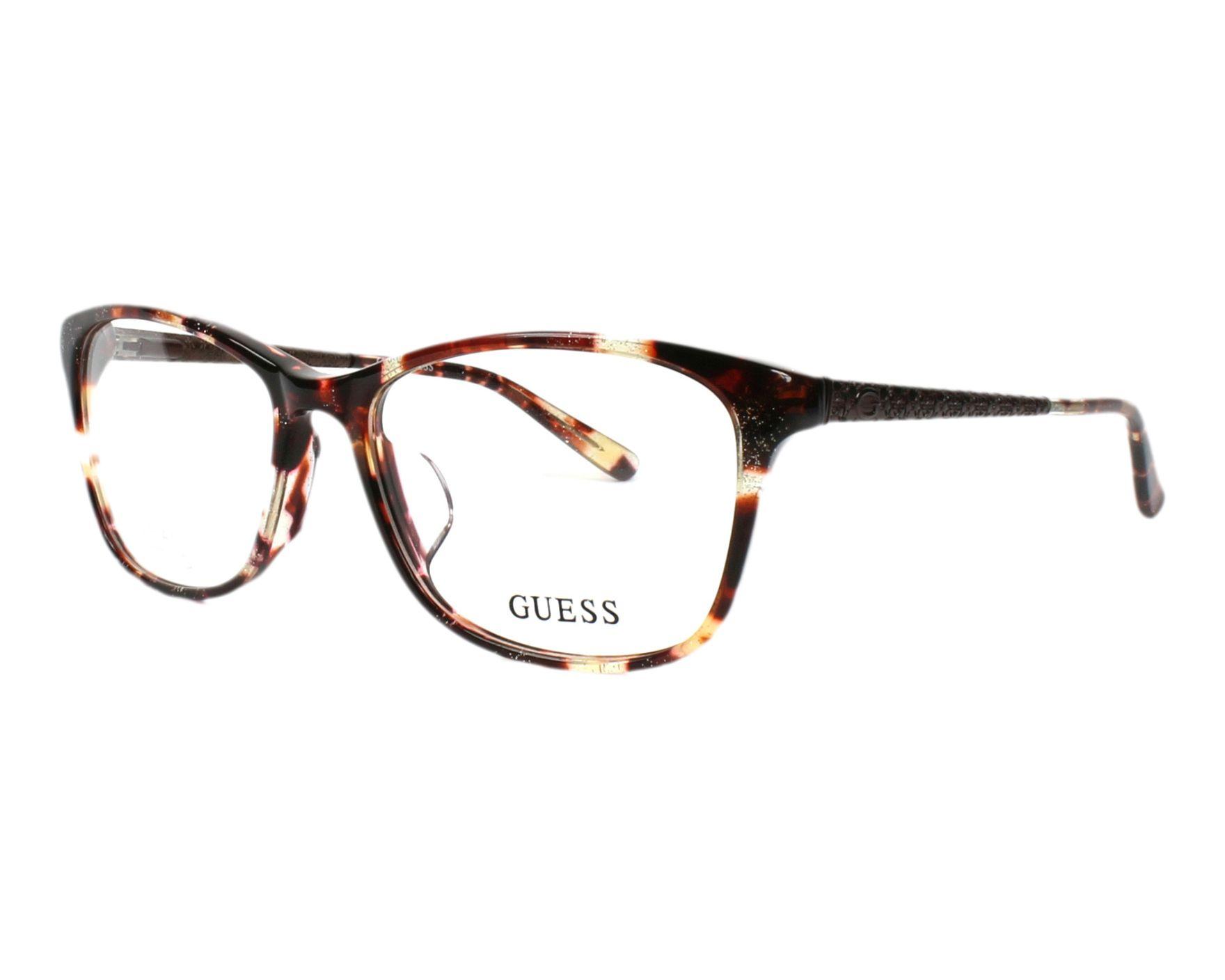 Guess Eyeglasses Havana GU-2500 047 - Visionet US