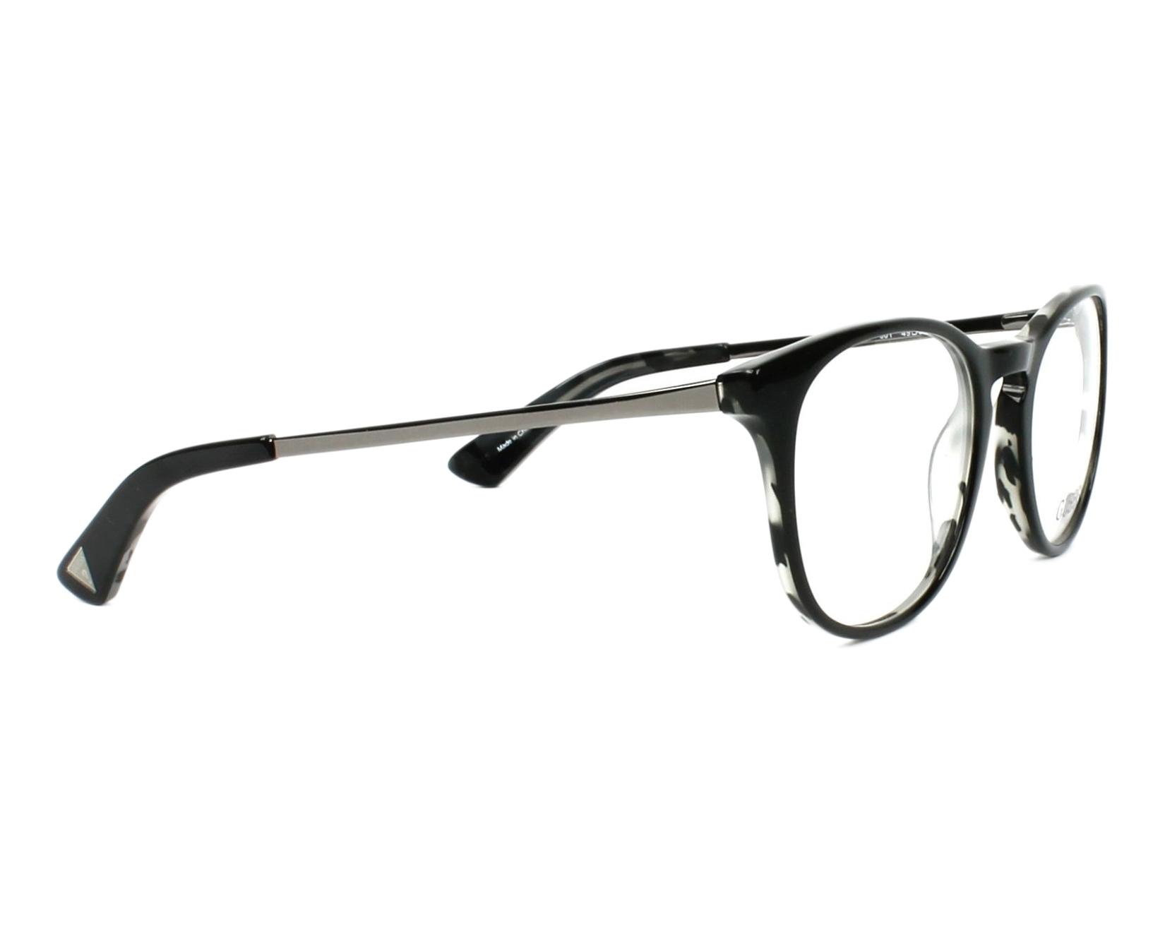 eyeglasses Guess GU-2531 001 49-20 Black Gun side view
