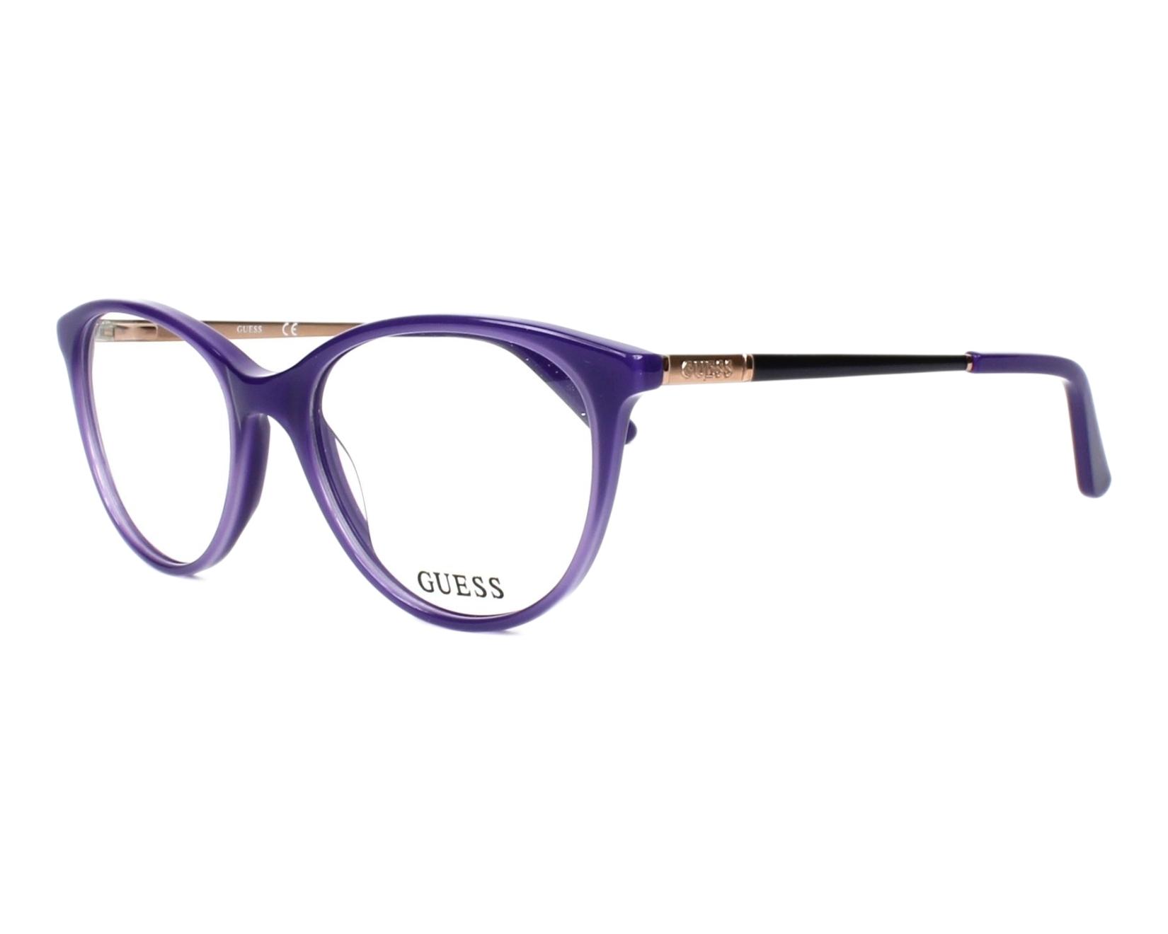 d72abb15307 eyeglasses Guess GU-2565 081 52-17 Purple Copper profile view