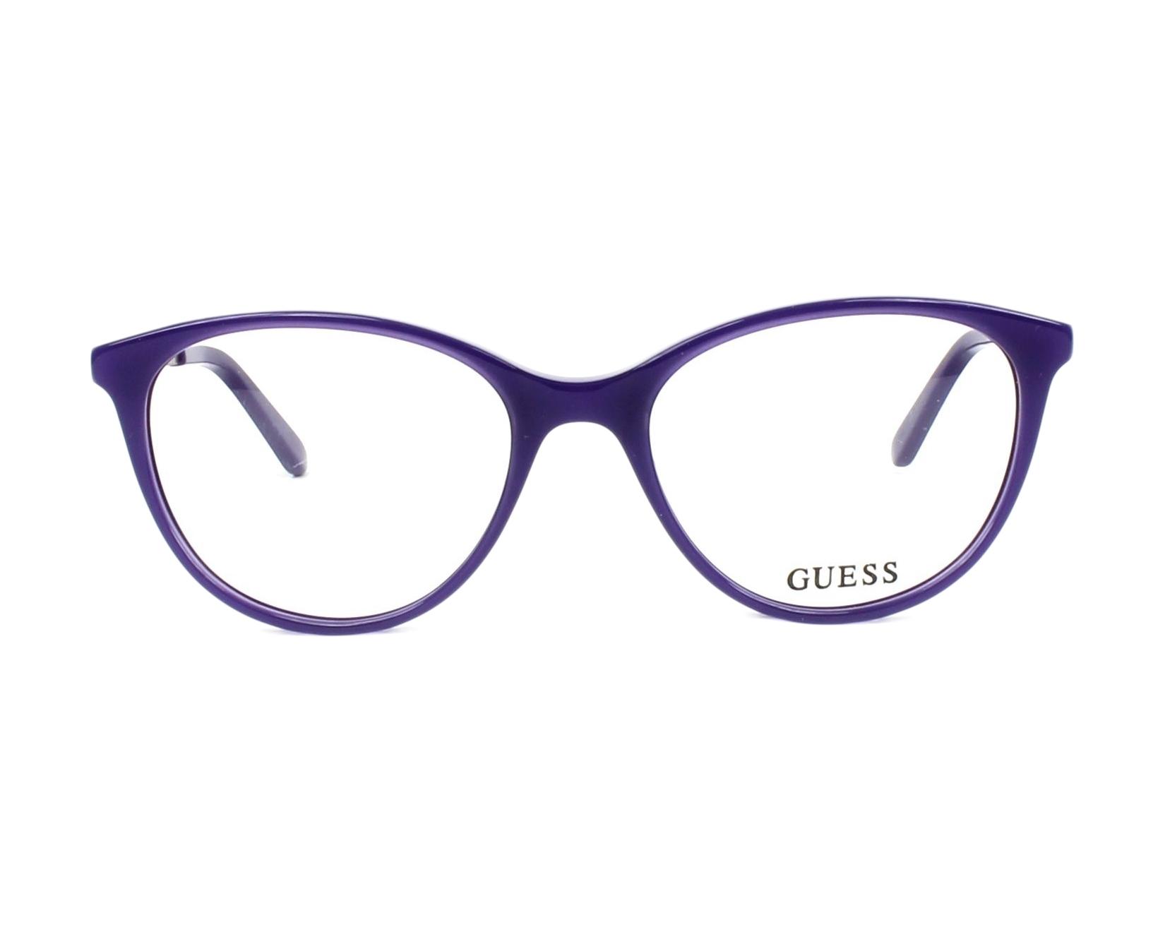 5c8c70a4d93 eyeglasses Guess GU-2565 081 52-17 Purple Copper front view