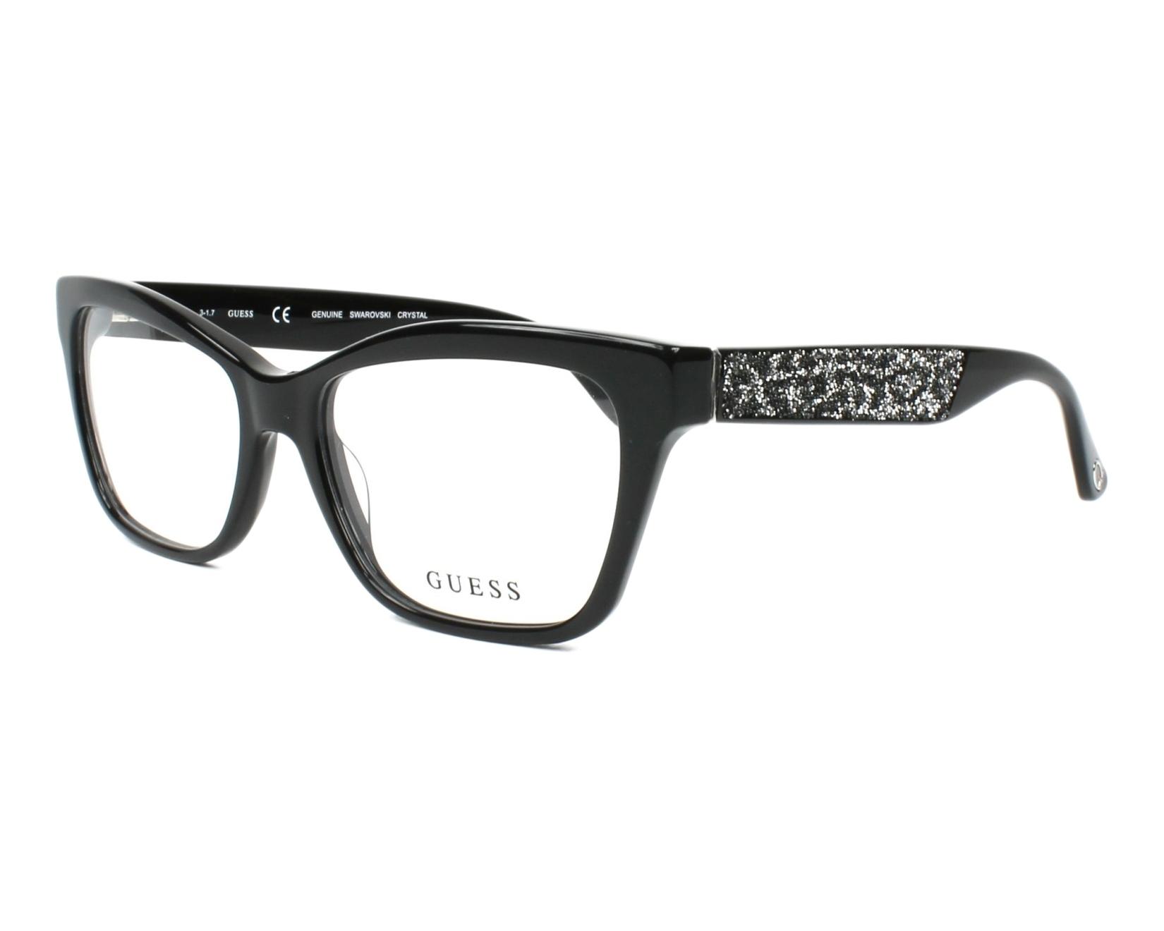 Guess Eyeglasses GU-2622 001 Black | visio-net.com