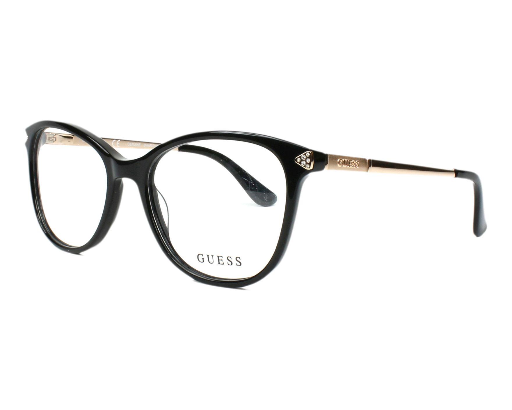 Guess Eyeglasses Black GU-2632-S 005 - Visionet US