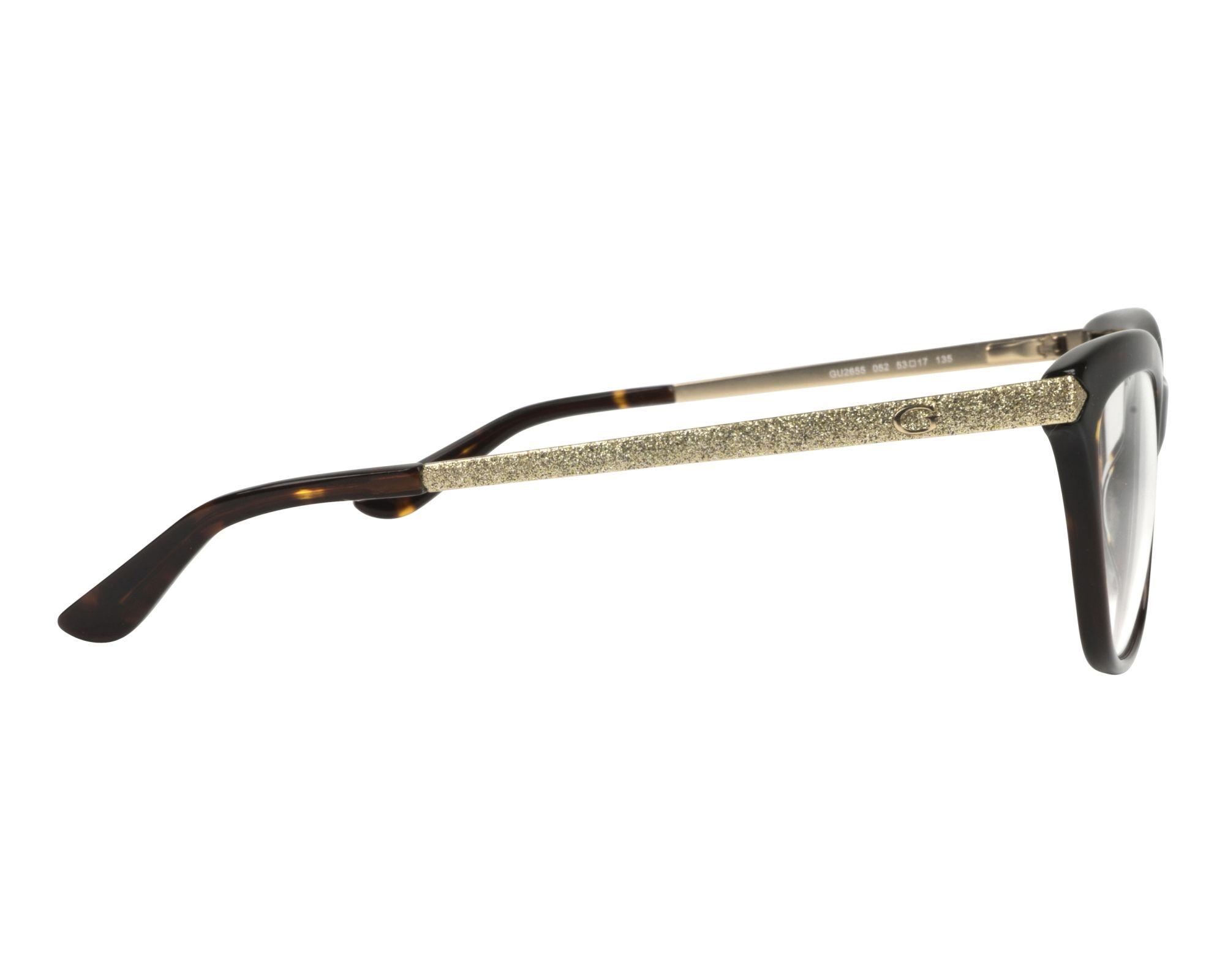 a92b699e357 eyeglasses Guess GU-2655 052 53-17 Havana Gold side view