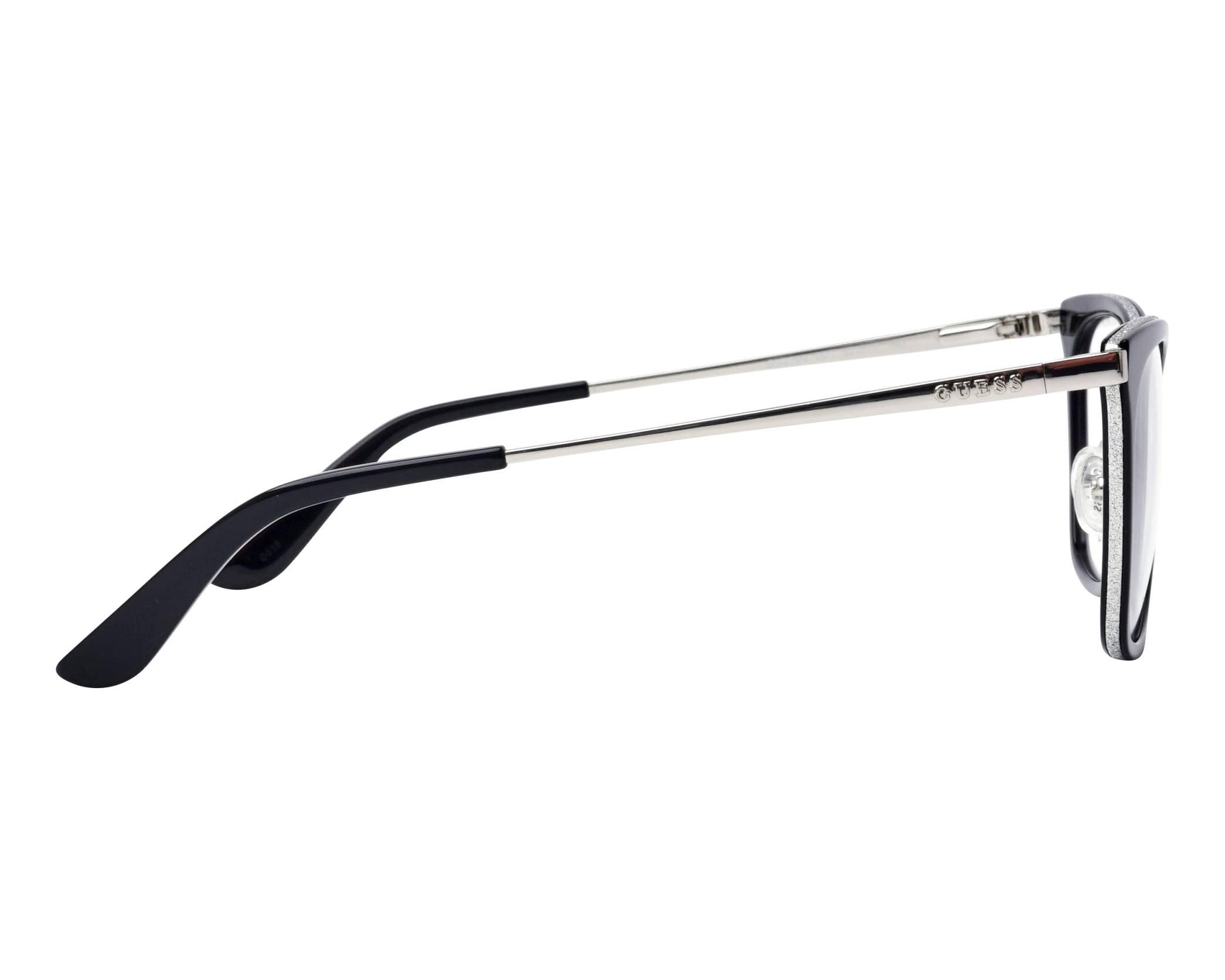 c7e00ca92c7 eyeglasses Guess GU-2706-V 001 52-17 Black Silver side view