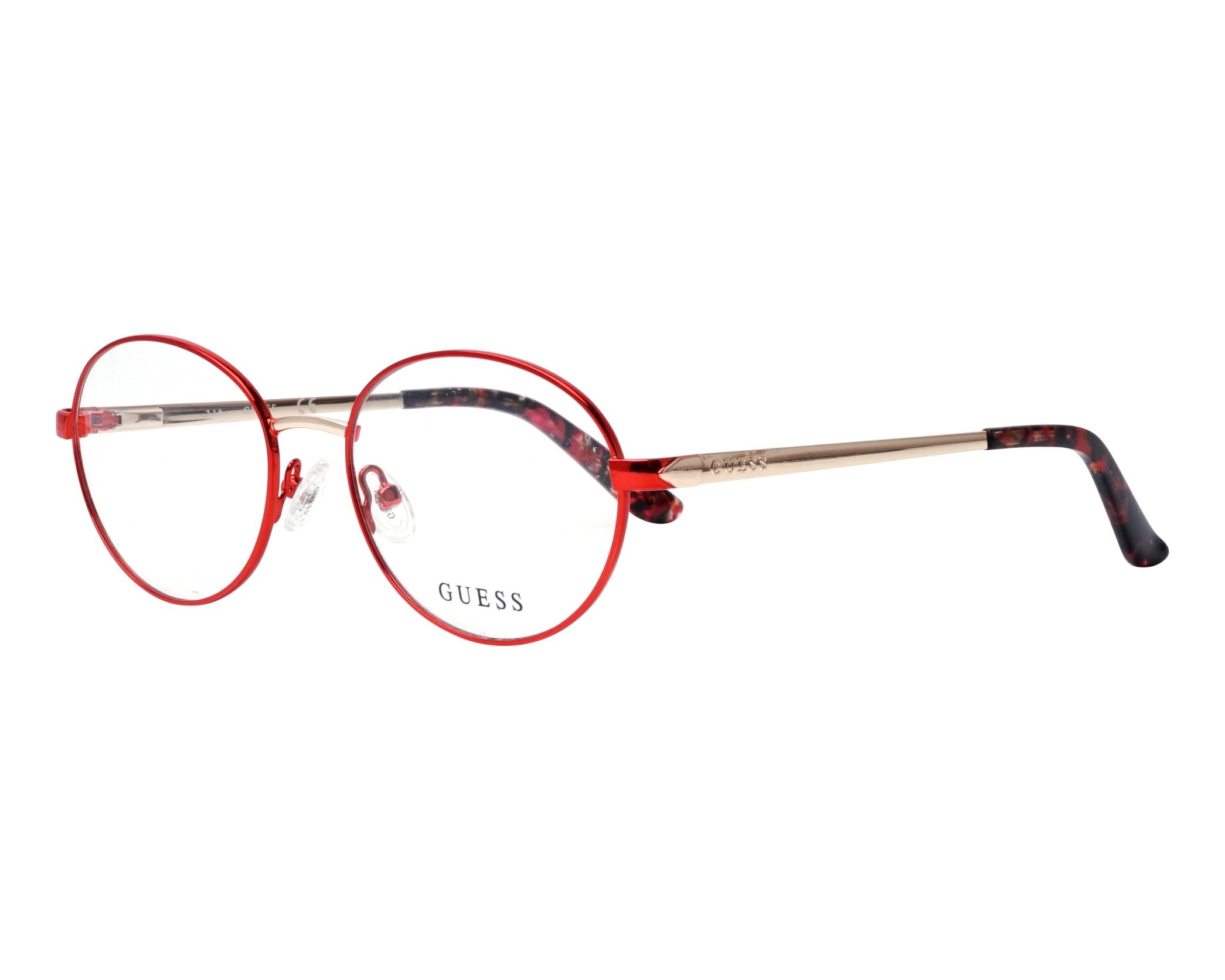 eyeglasses Guess GU-2713-V 069 52-17 Red Gold profile view